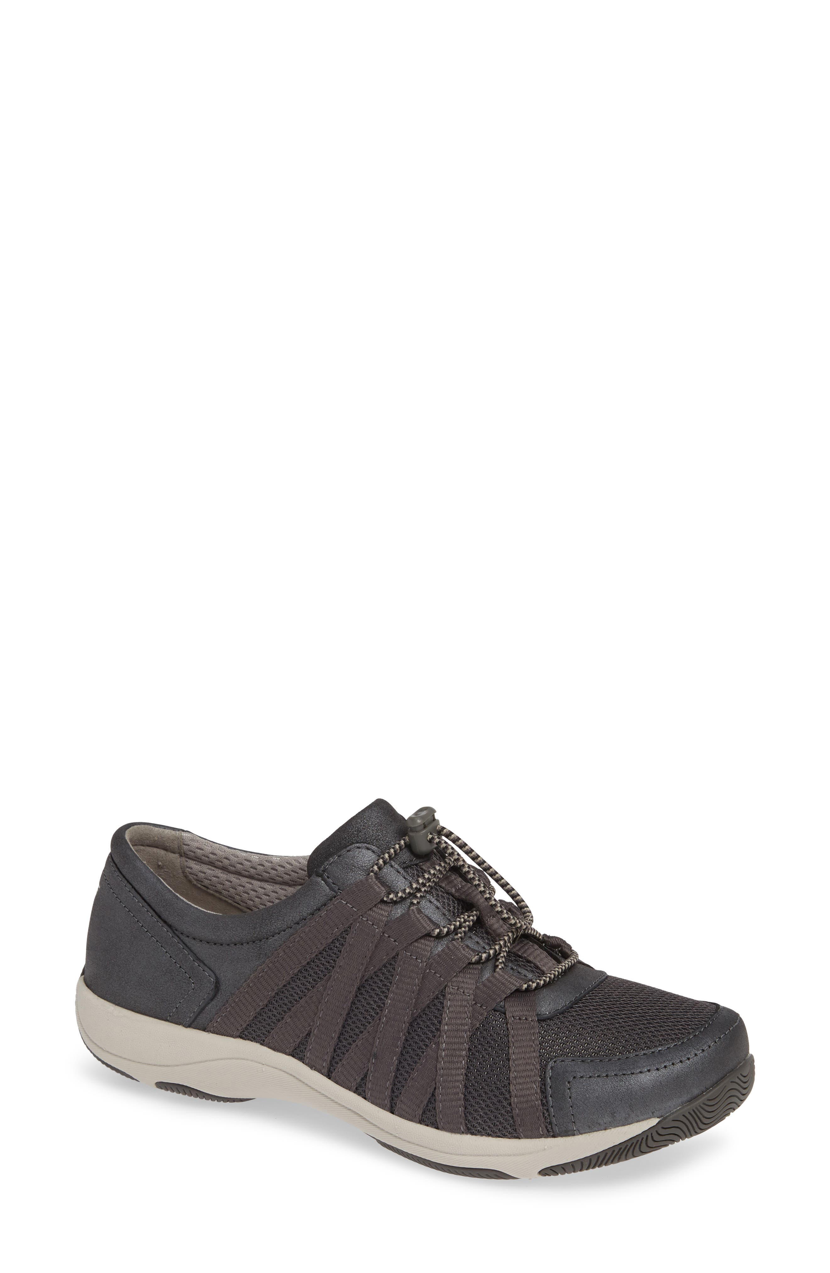 Halifax Collection Honor Sneaker,                         Main,                         color, CHARCOAL/ CHARCOAL SUEDE