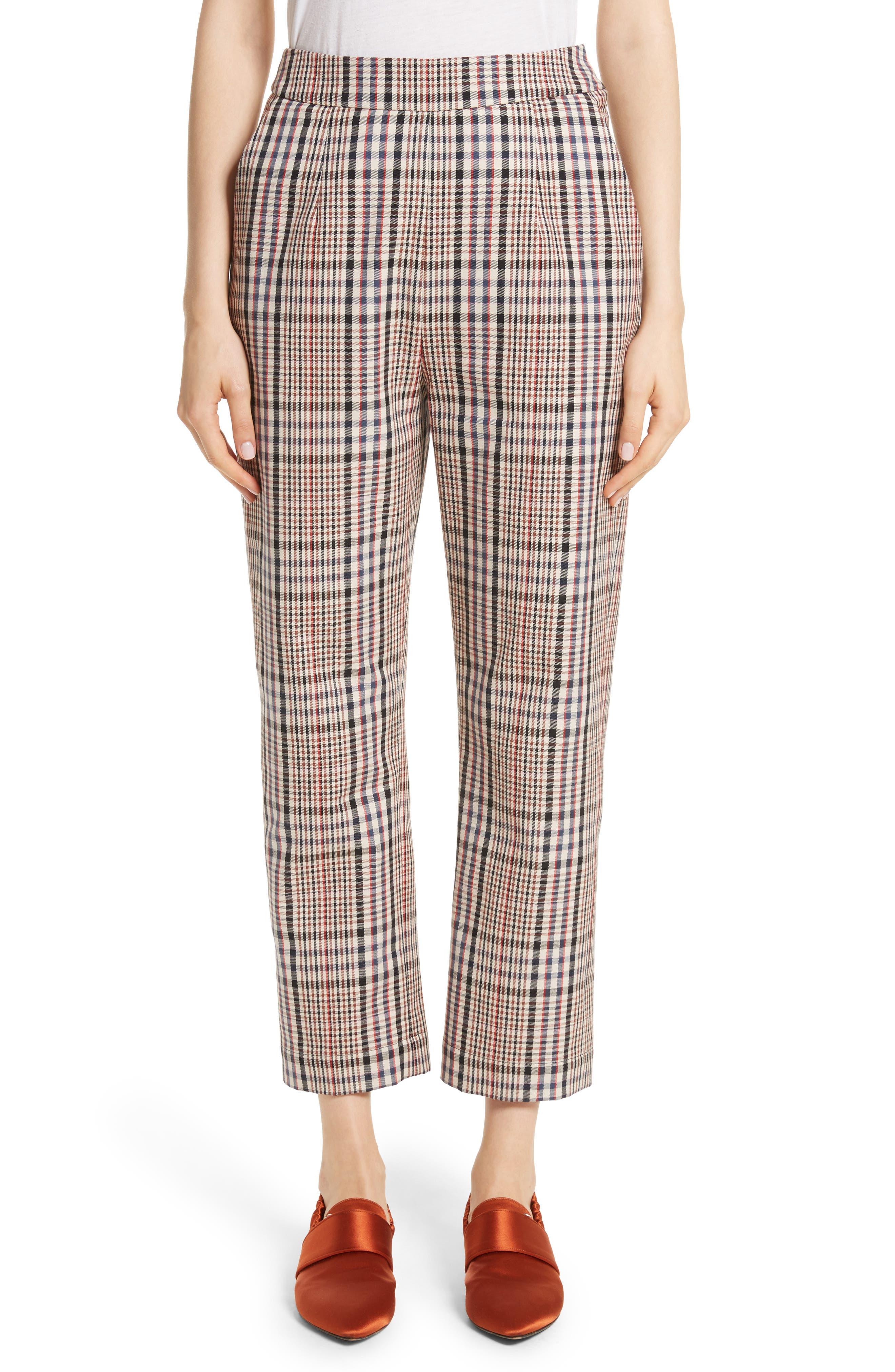 Classic Pantalone Crop Pants,                         Main,                         color,