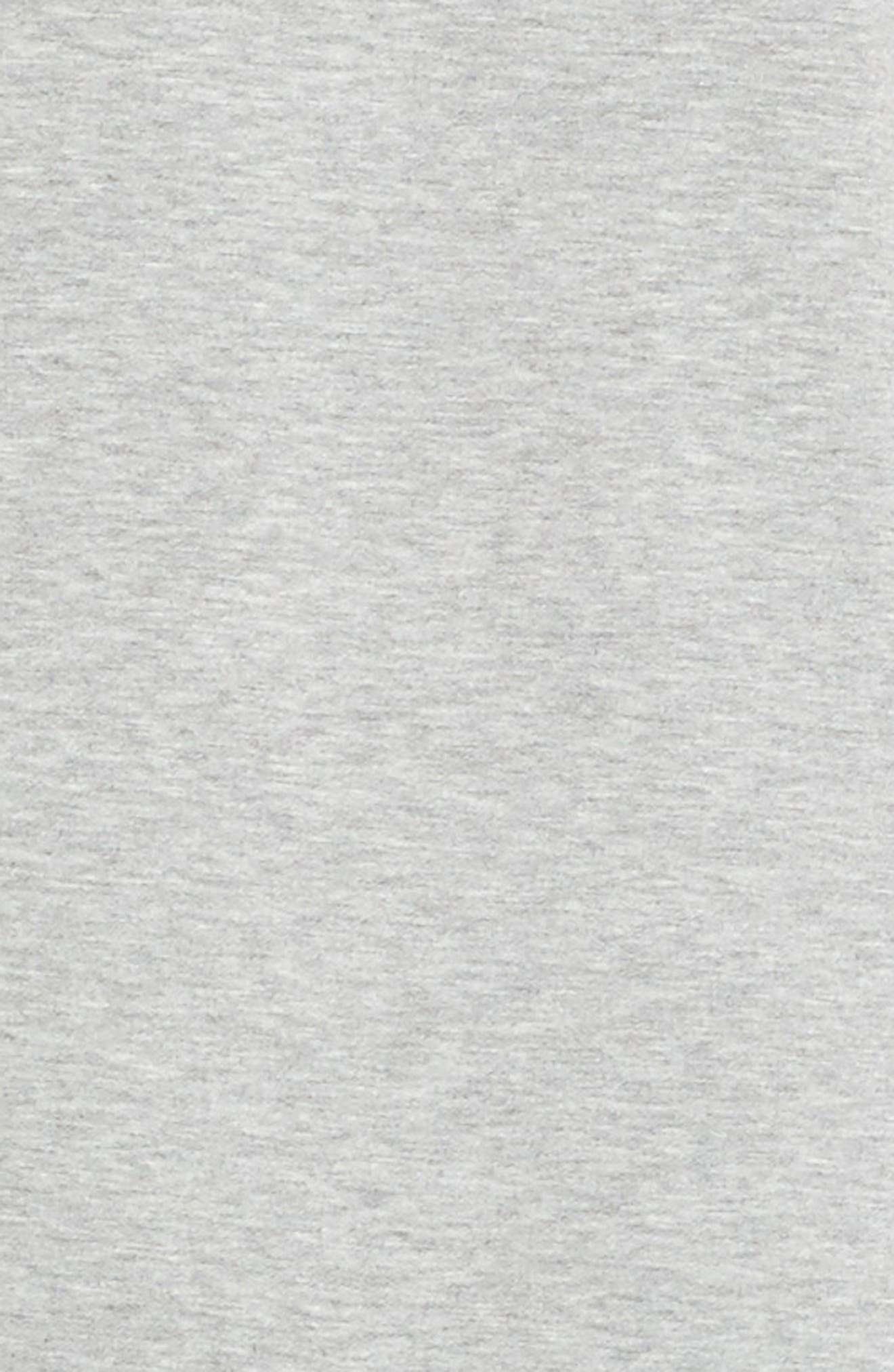 Eyelet Trim T-Shirt Dress,                             Alternate thumbnail 5, color,                             030