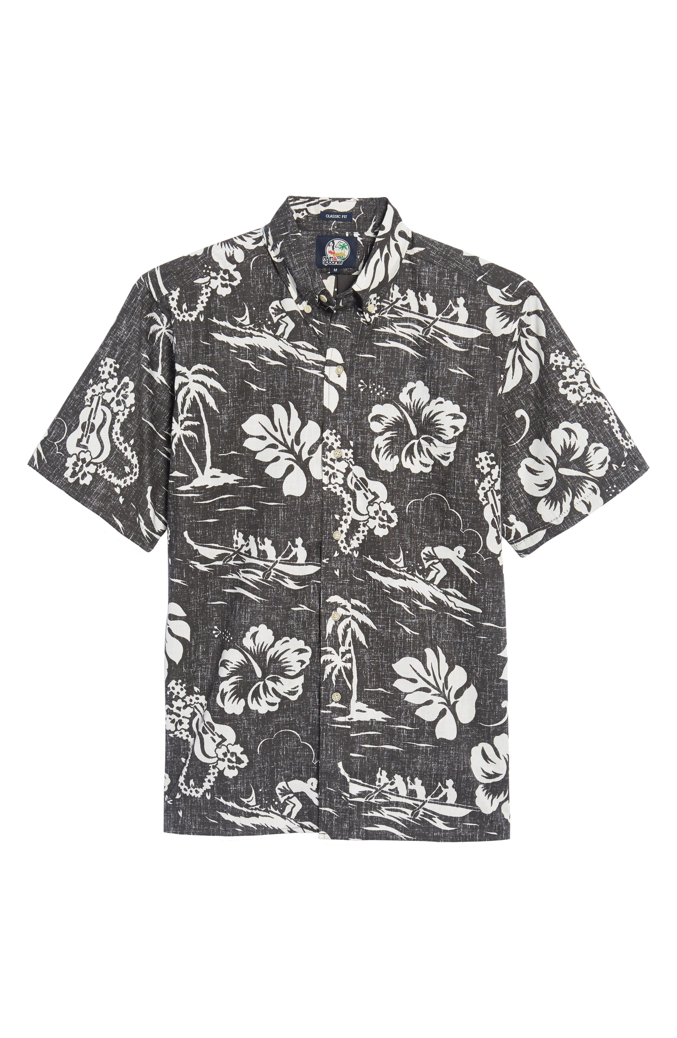 Quiet Lagoon Classic Fit Sport Shirt,                             Alternate thumbnail 6, color,                             010