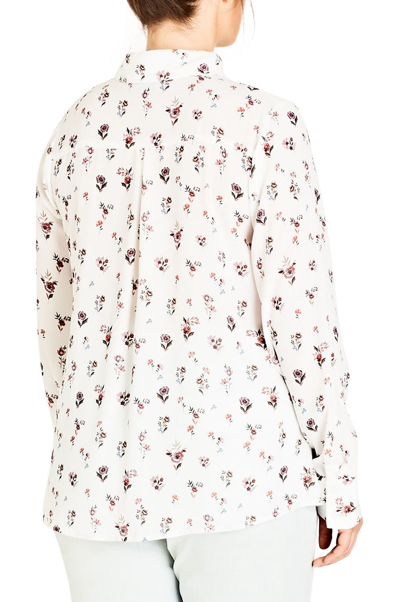 Flower Rain Shirt,                             Alternate thumbnail 2, color,