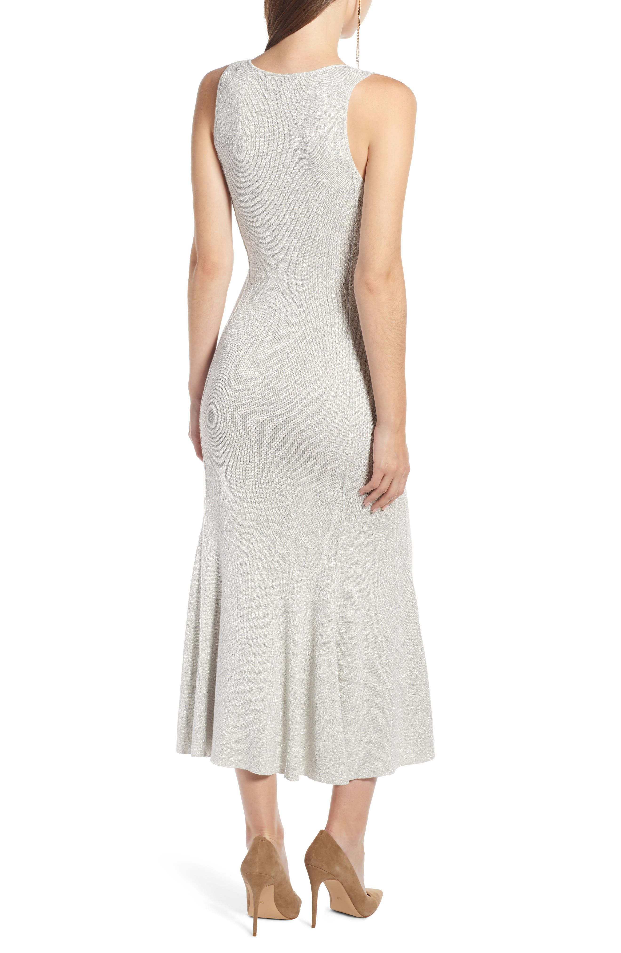 SOMETHING NAVY,                             Maxi Sweater Dress,                             Alternate thumbnail 4, color,                             900