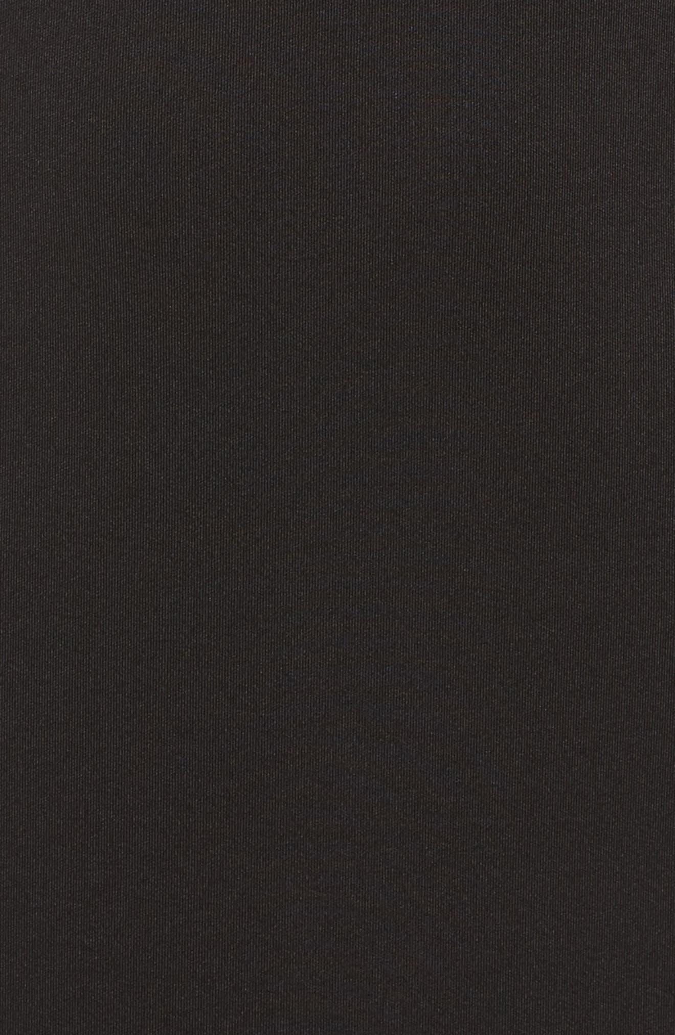 Bow Sheath Dress,                             Alternate thumbnail 5, color,                             001