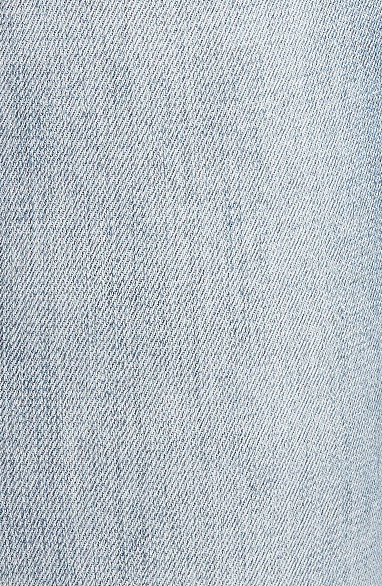 Catherine Distressed Boyfriend Jeans,                             Alternate thumbnail 6, color,                             431