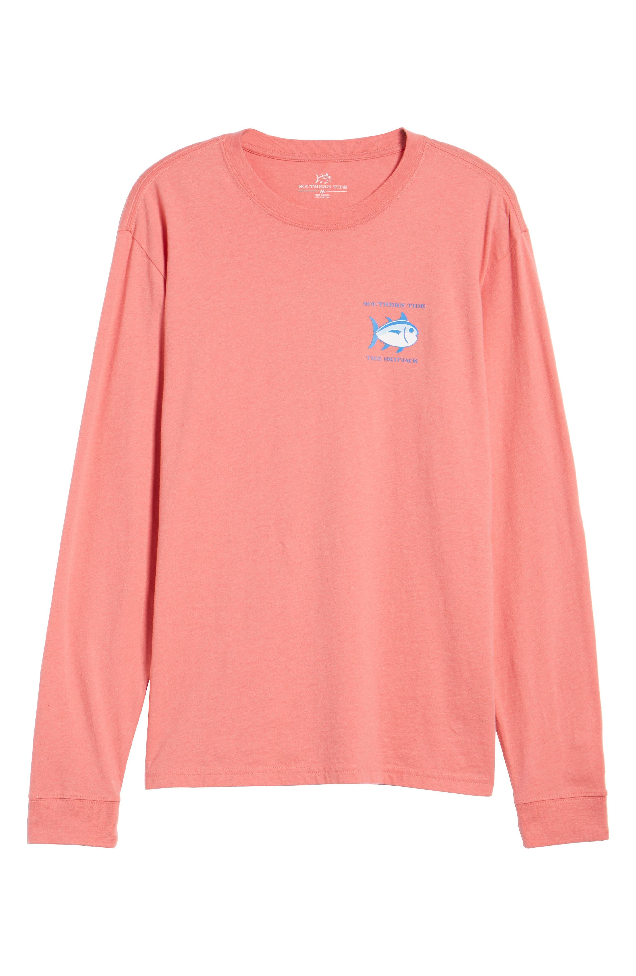 'Skipjack'Long Sleeve Graphic T-Shirt,                             Alternate thumbnail 58, color,