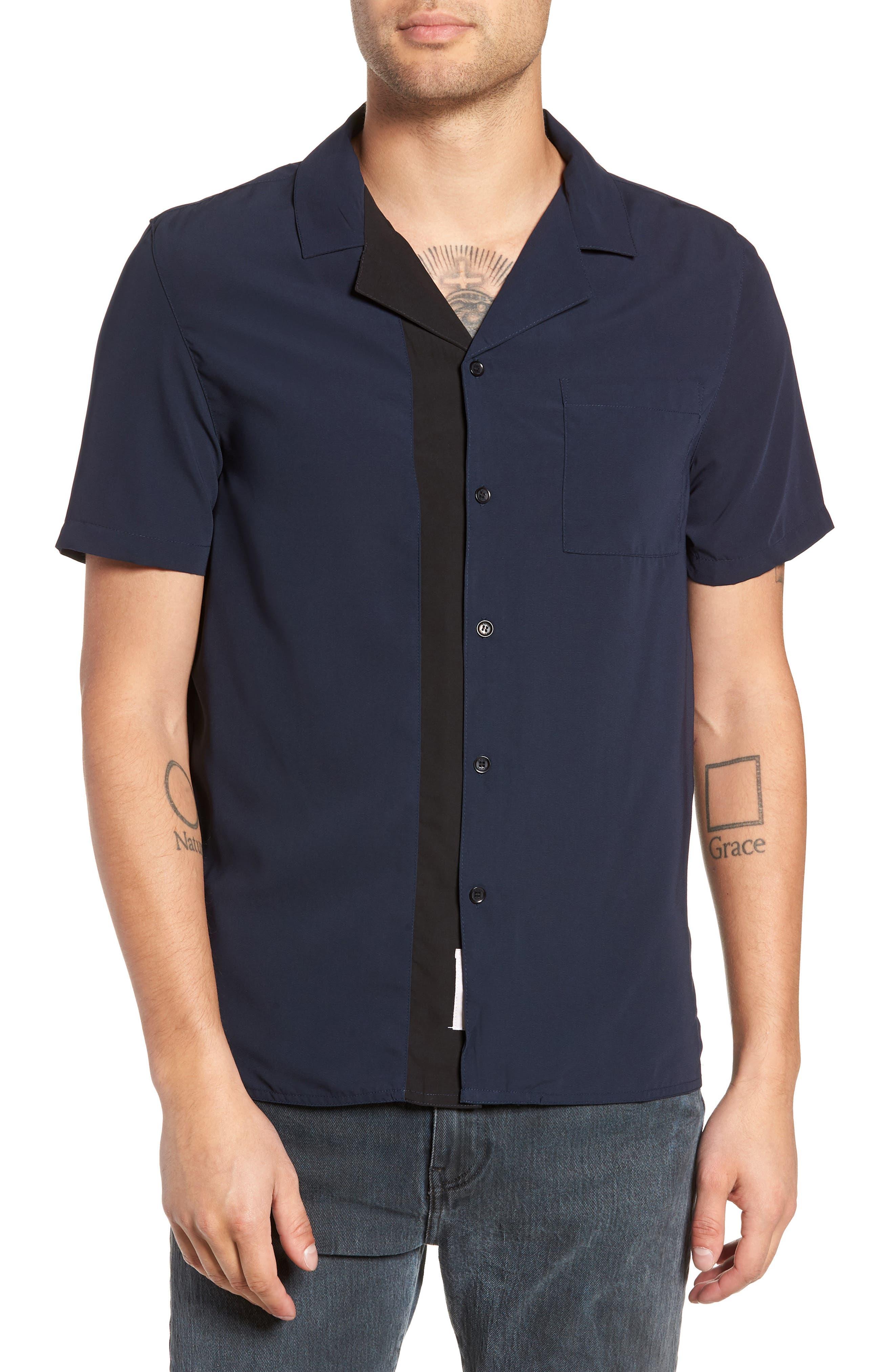 York Woven Shirt,                             Main thumbnail 1, color,                             400