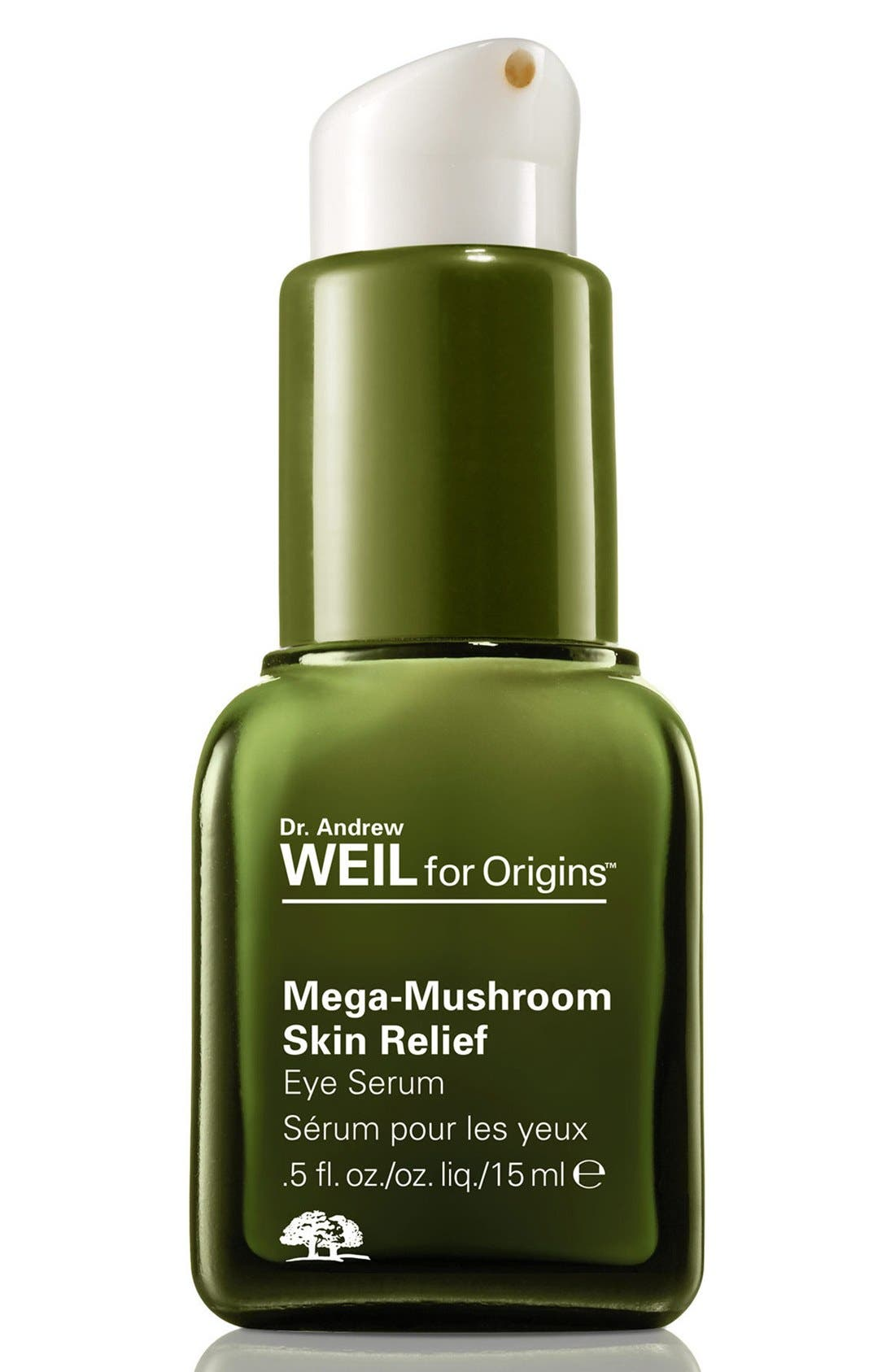 Dr. Andrew Weil for Origins<sup>™</sup> Mega-Mushroom Skin Relief Eye Serum,                             Main thumbnail 1, color,                             NO COLOR
