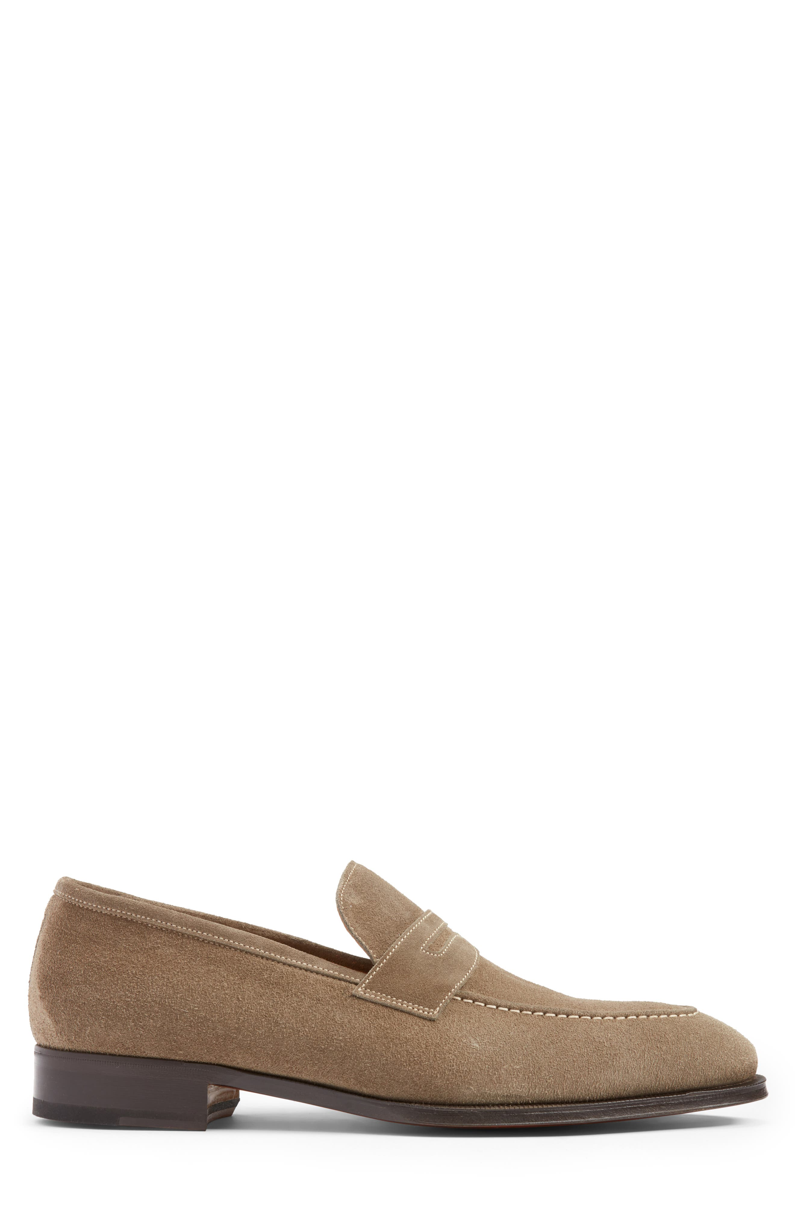 Leather Penny Loafer,                             Alternate thumbnail 15, color,