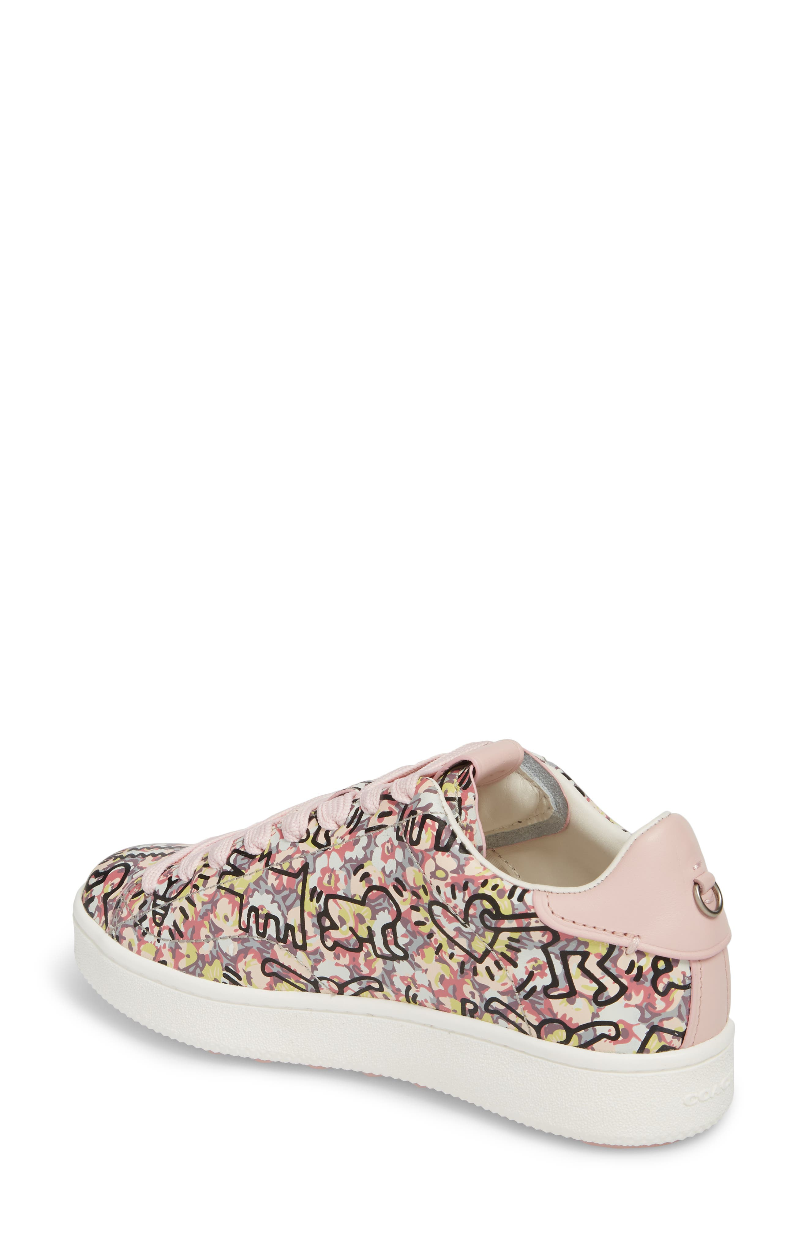 x Keith Haring Low Top Sneaker,                             Alternate thumbnail 2, color,                             674