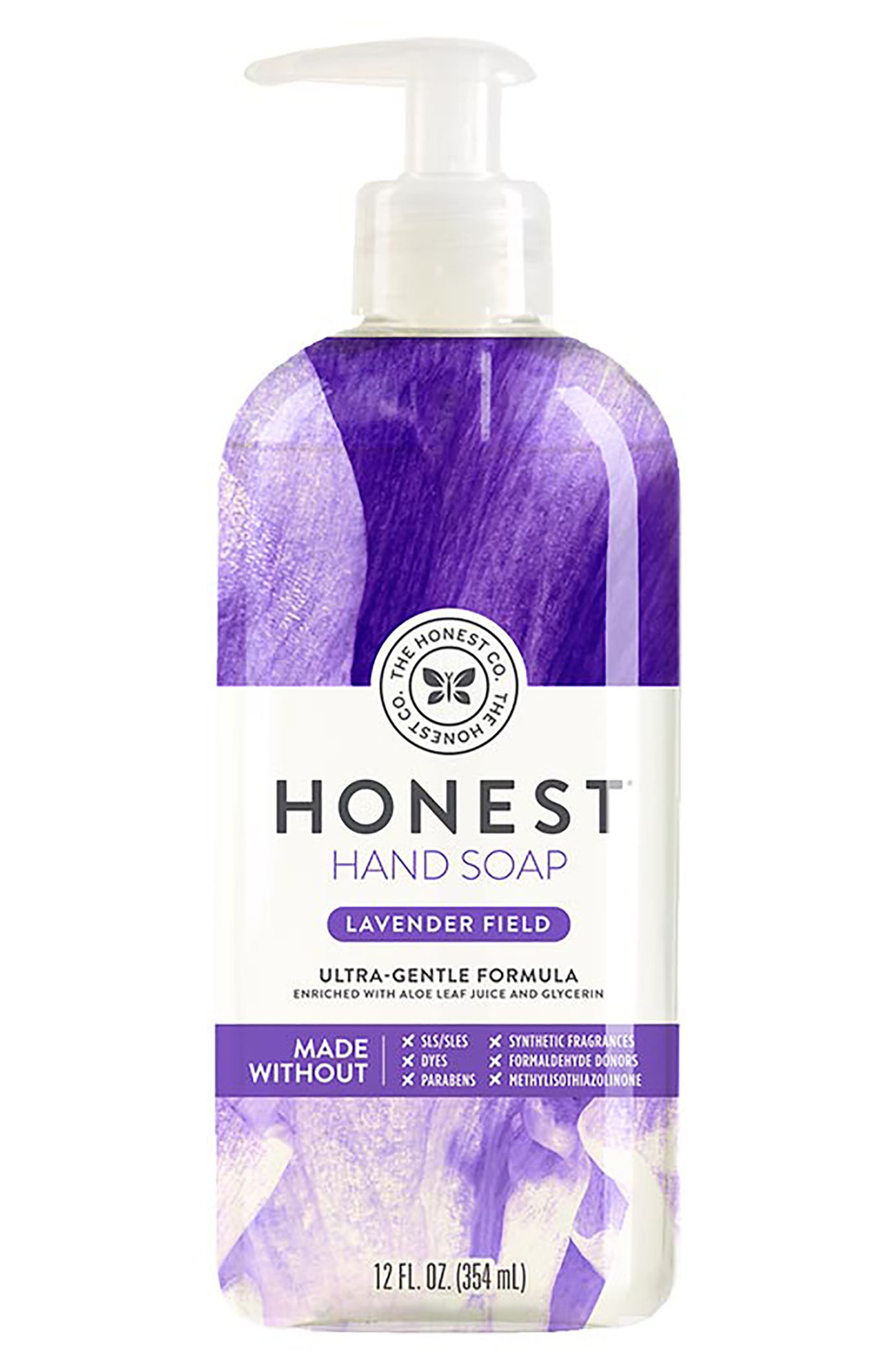Lavender Field Hand Soap,                             Main thumbnail 1, color,                             LAVENDER FIELD