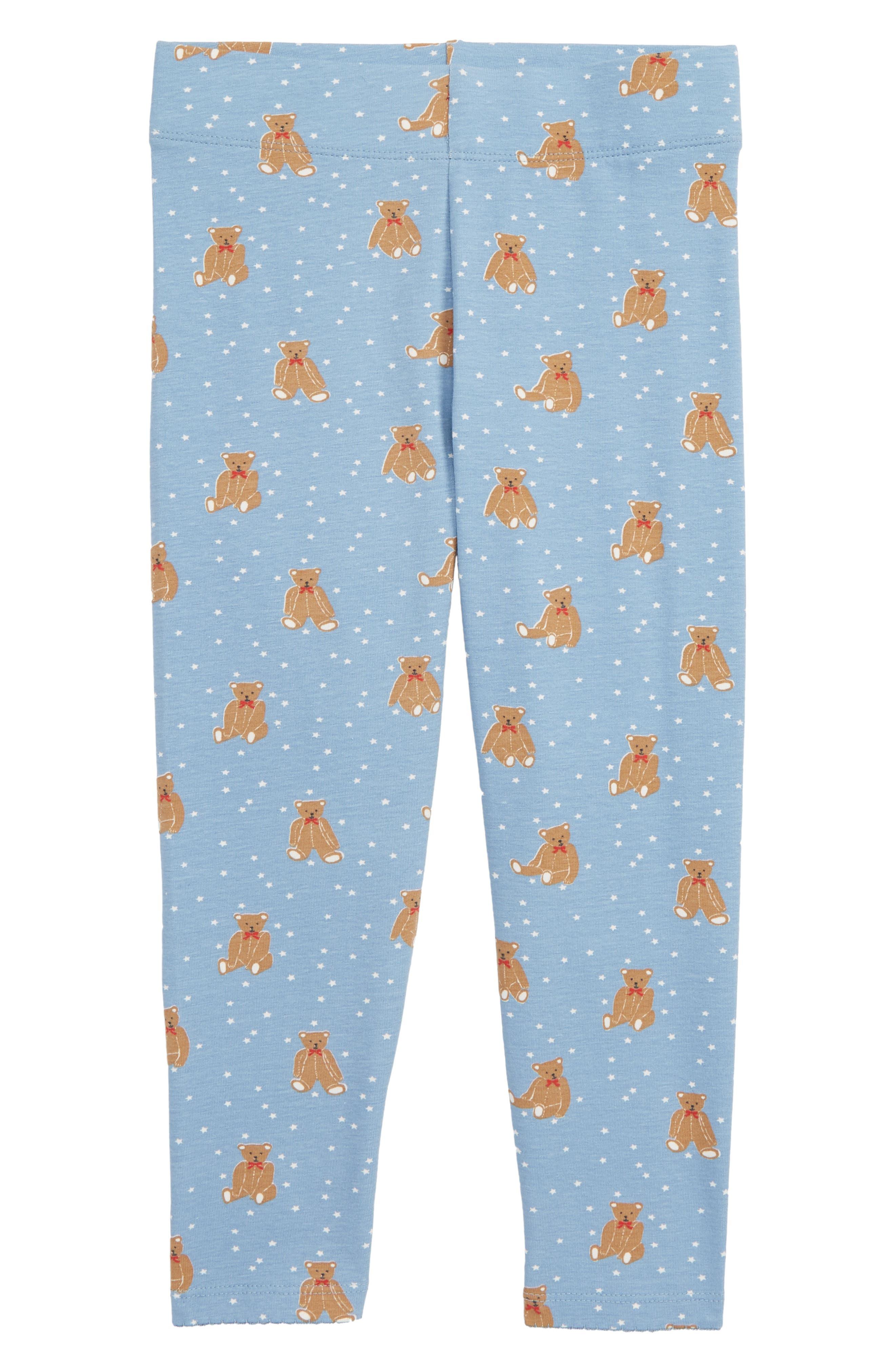 Toddler Girls Mini Boden Boathouse Bears Leggings