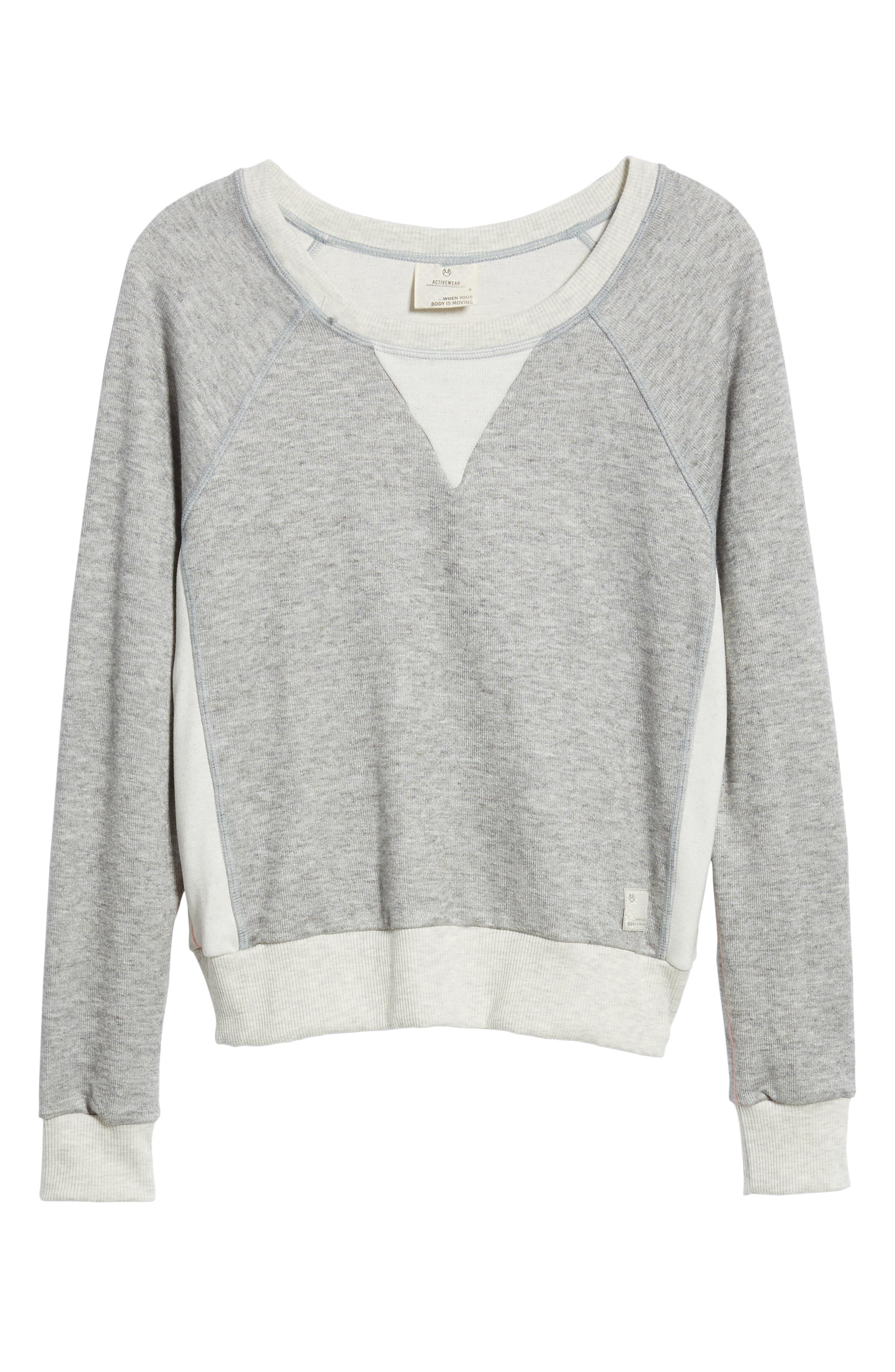 Glimmer Granite Sweatshirt,                             Alternate thumbnail 2, color,                             030