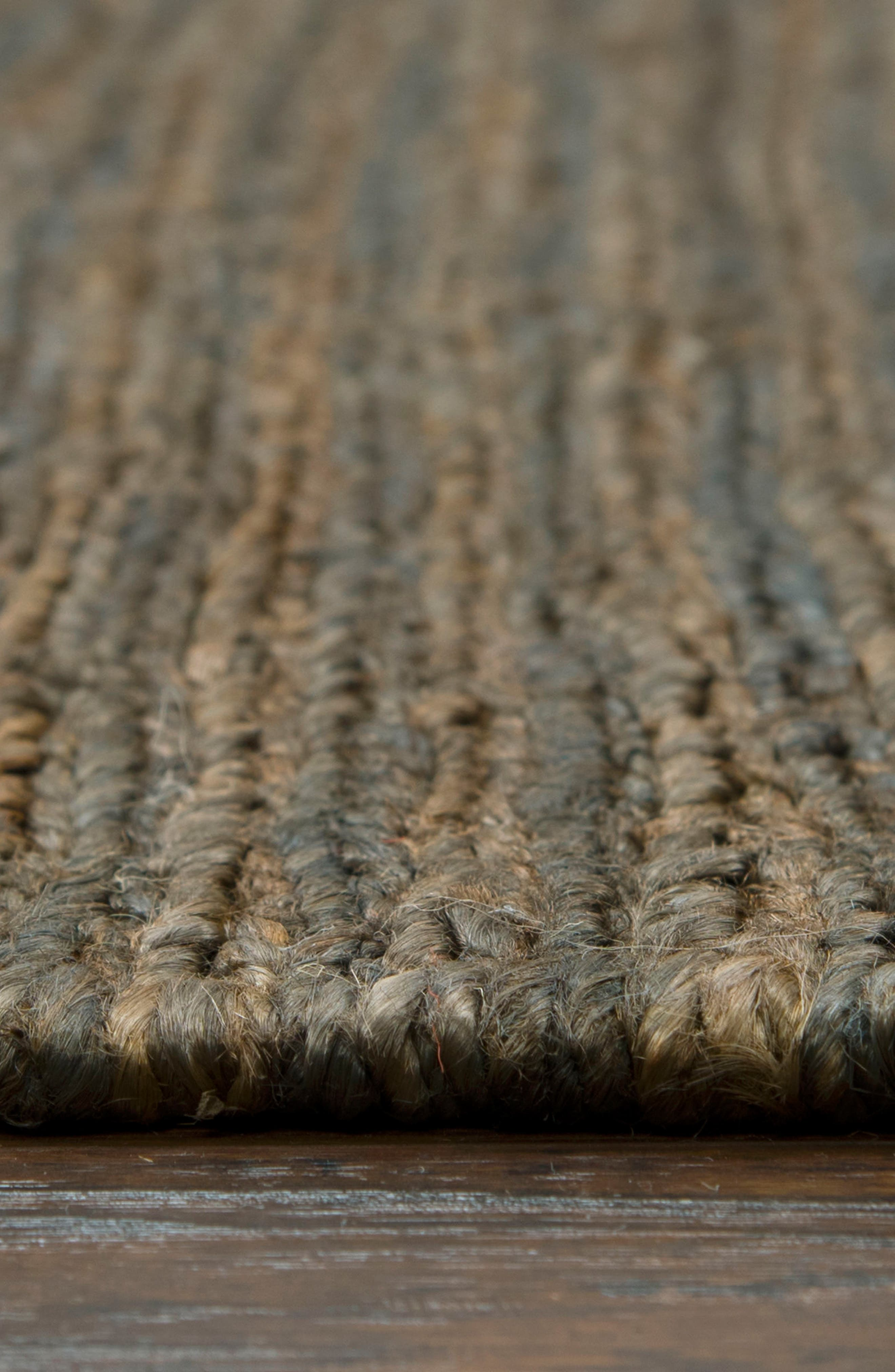 'Whittier Collection' Handwoven Jute Area Rug,                             Alternate thumbnail 4, color,                             400