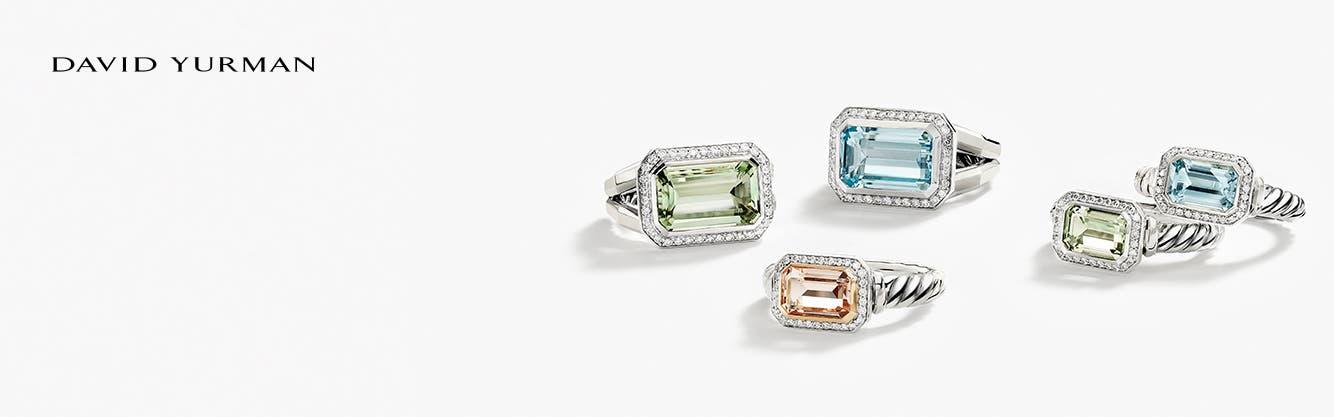 David Yurman jewelry: the Novella Collection.
