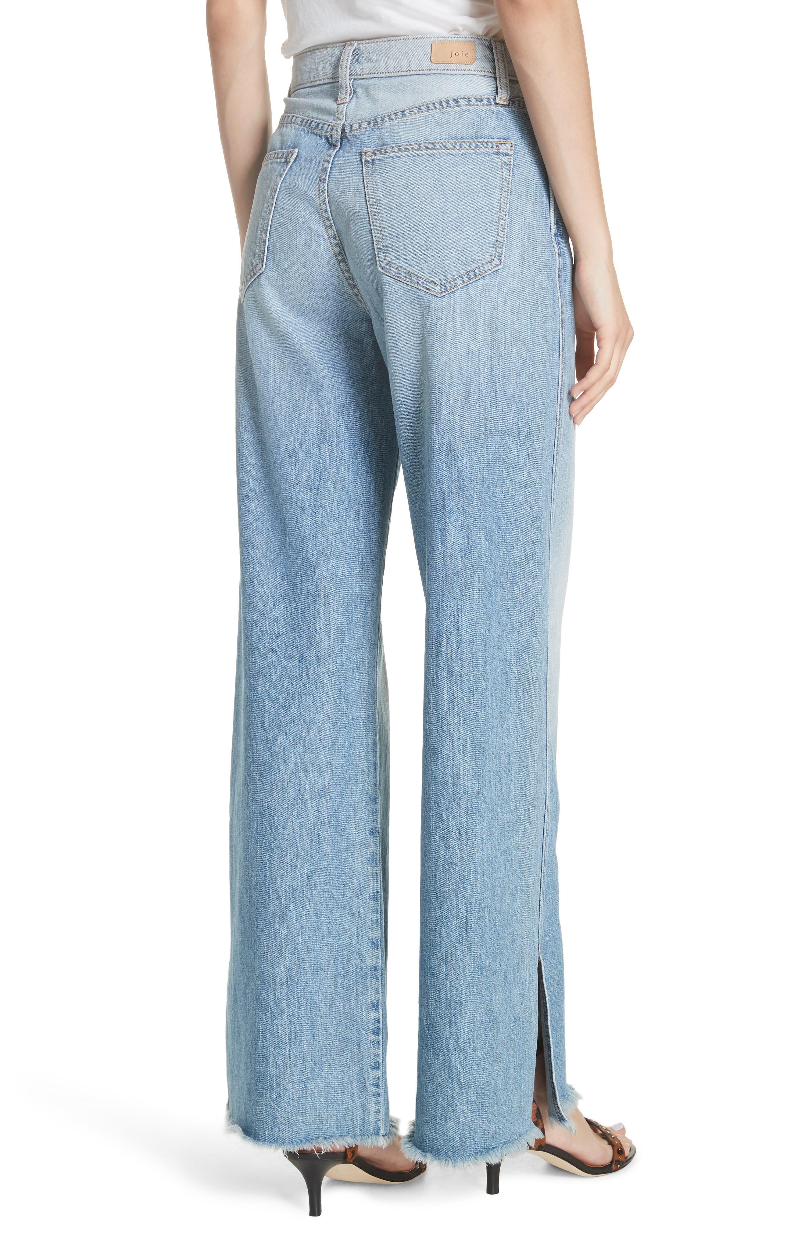 Isemene Wide Leg Jeans,                             Alternate thumbnail 2, color,                             450