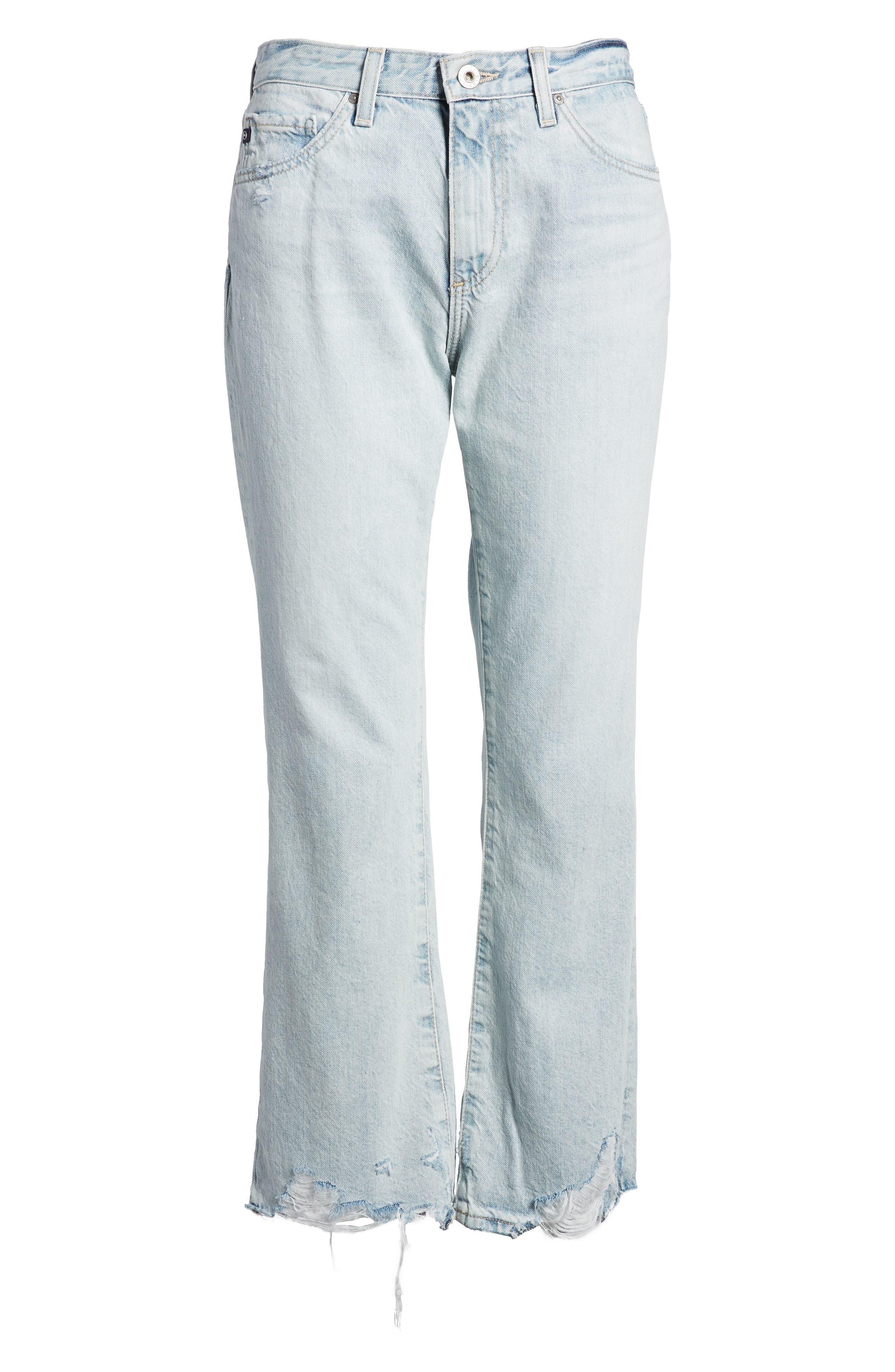Jeans Jodi Crop Jeans,                             Alternate thumbnail 7, color,                             455