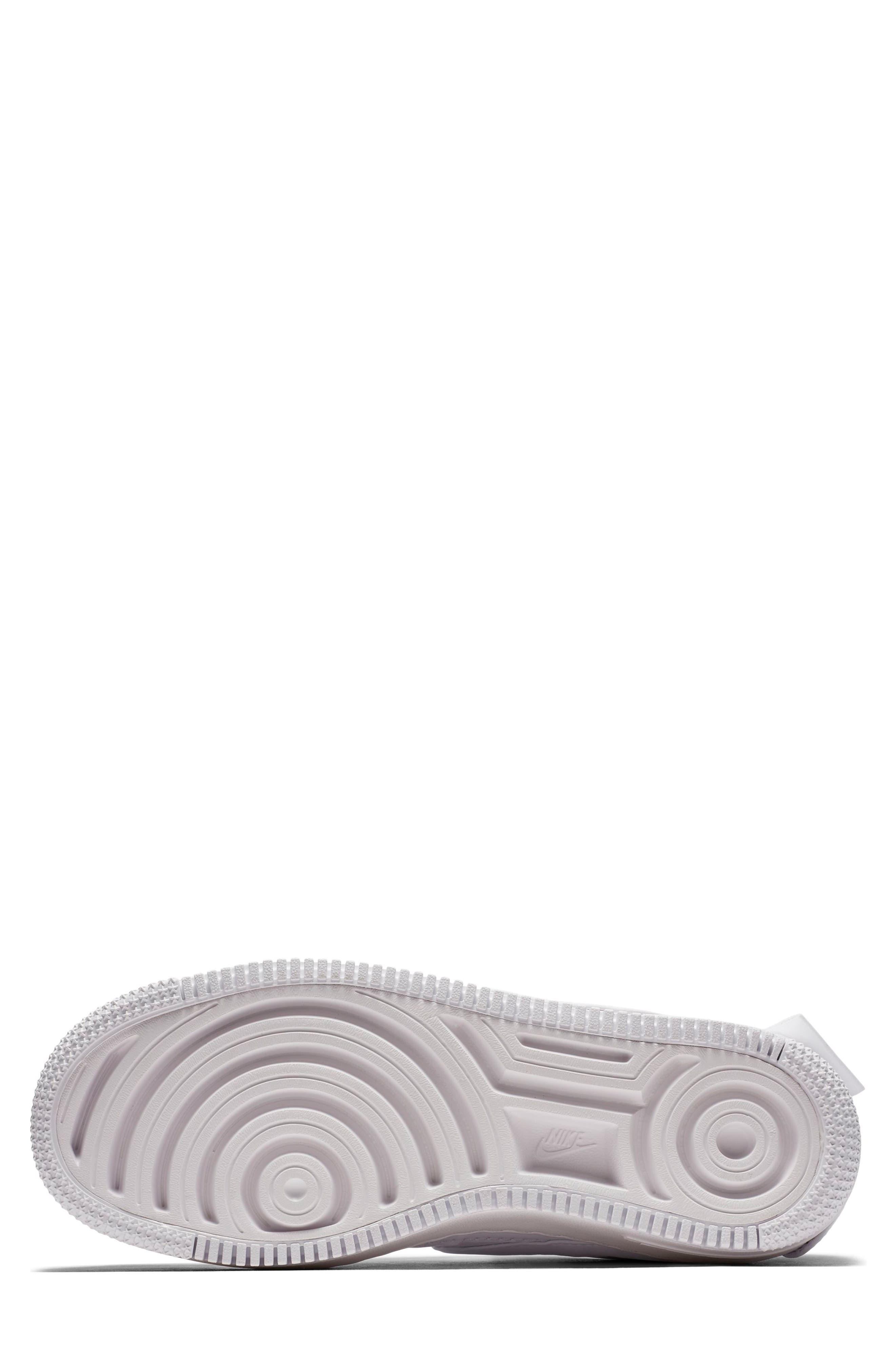 Air Force 1 Jester XX Sneaker,                             Alternate thumbnail 5, color,                             WHITE/ WHITE-BLACK