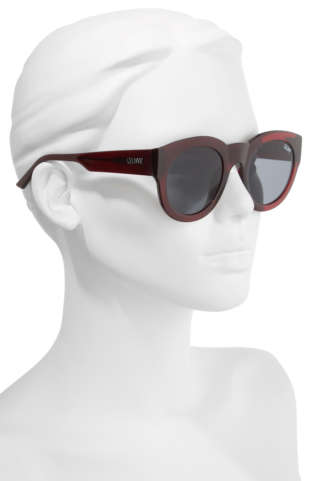 If Only 50mm Round Sunglasses,                             Alternate thumbnail 6, color,
