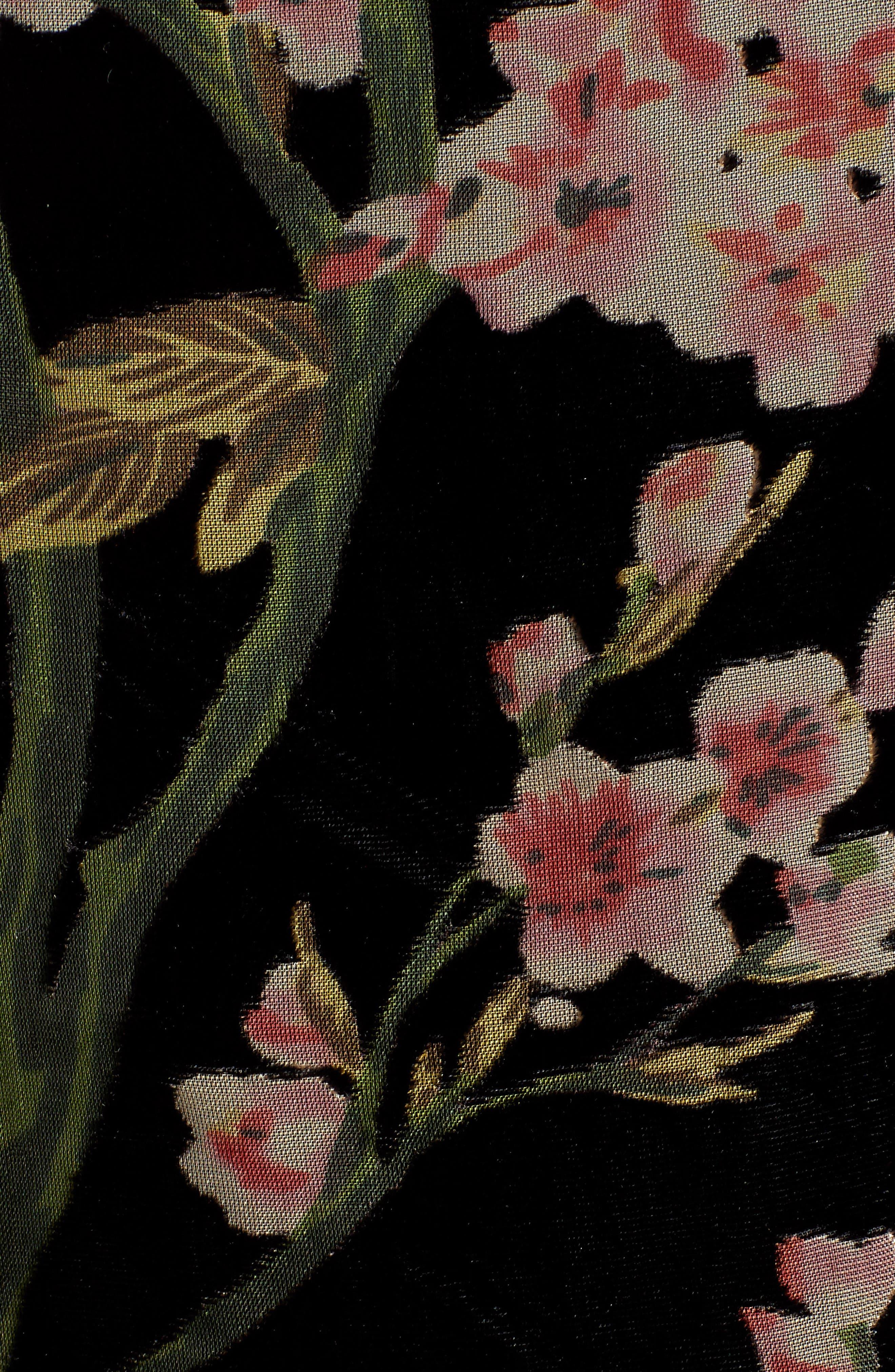 Bishop + Young Victoria Floral Burnout Velvet Tank,                             Alternate thumbnail 5, color,                             ASSORTED