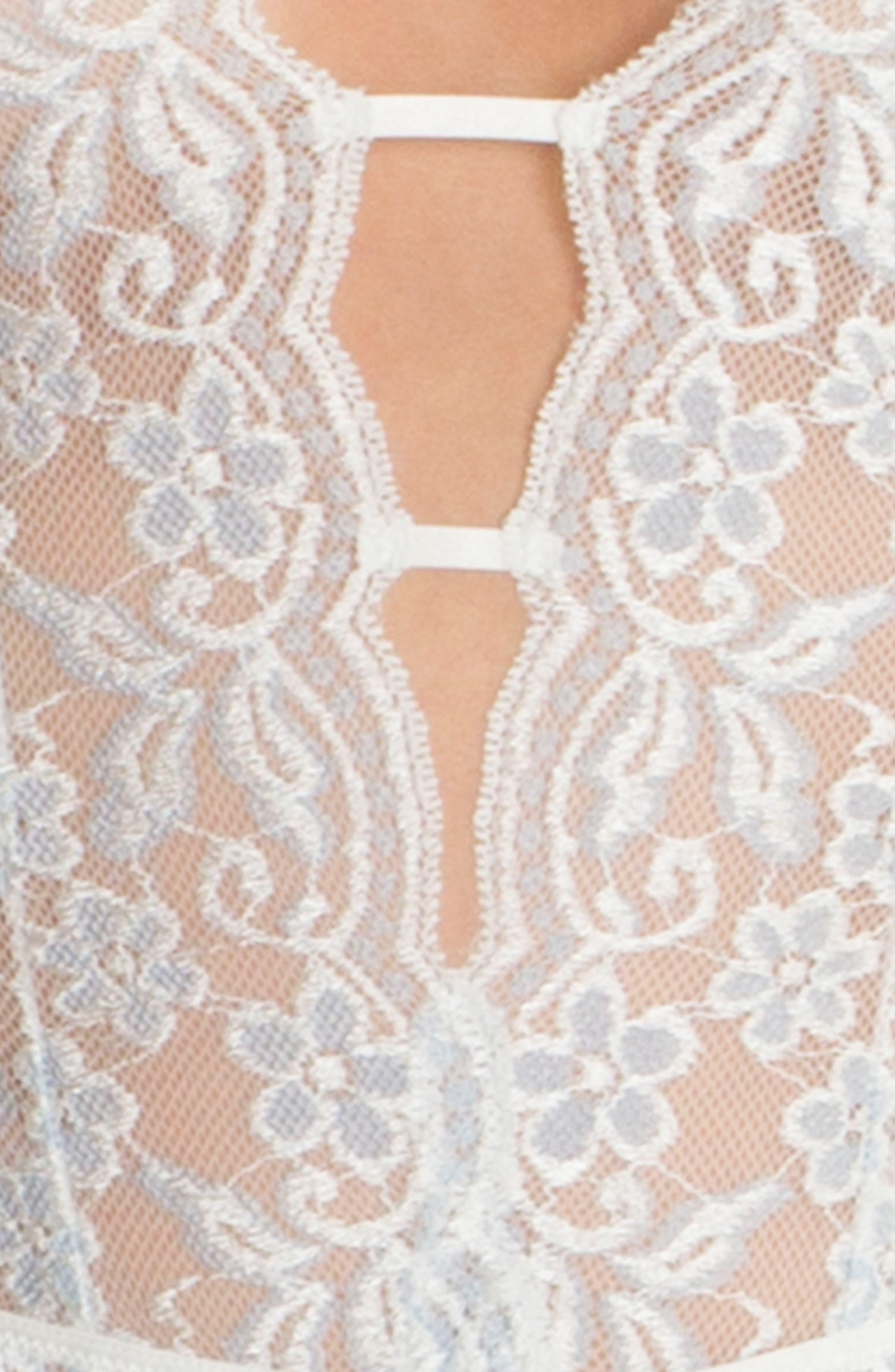 Lace Bodysuit,                             Alternate thumbnail 4, color,                             900