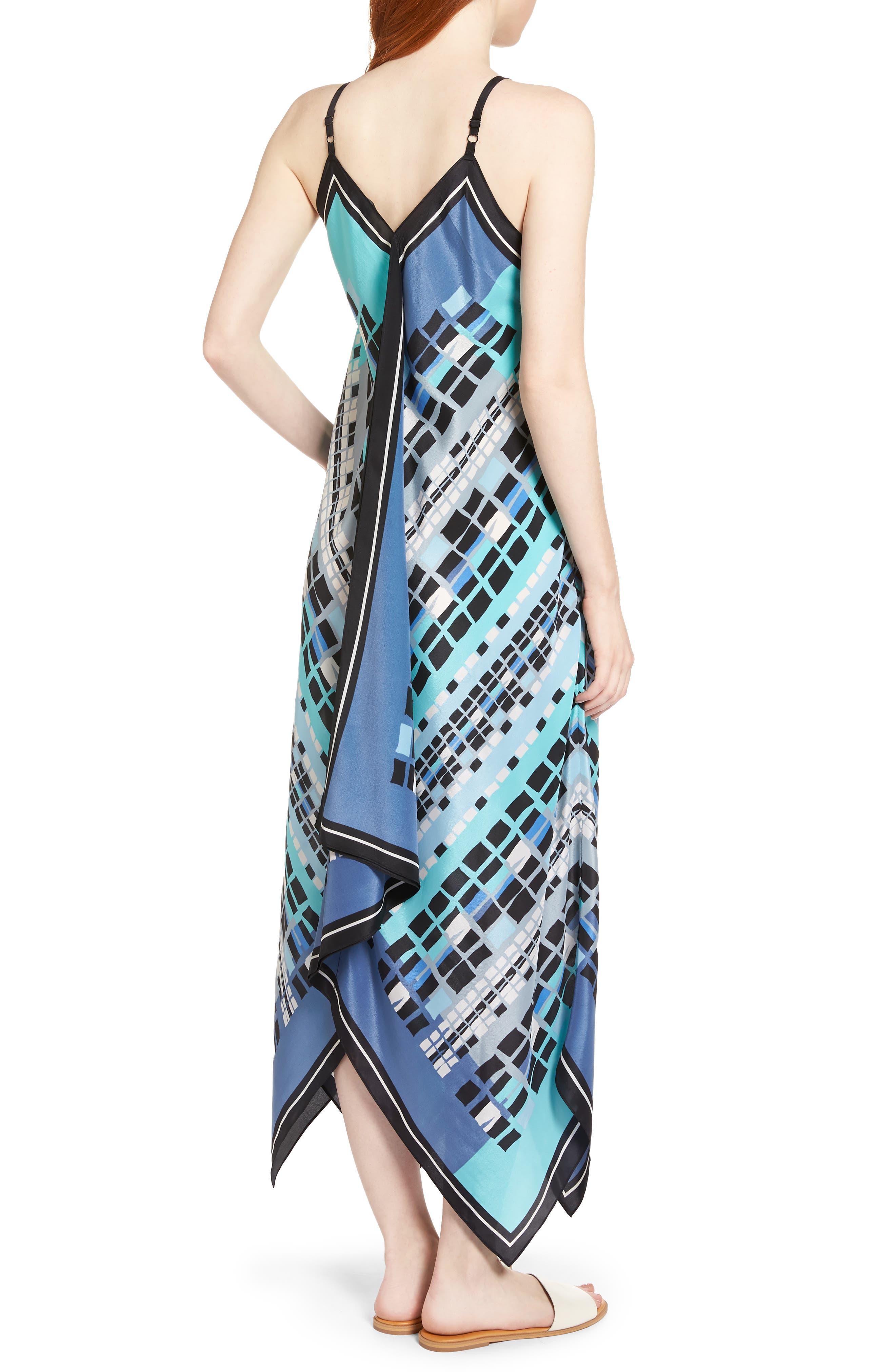 From Above Dress Silk Blend Maxi Dress,                             Alternate thumbnail 2, color,                             490