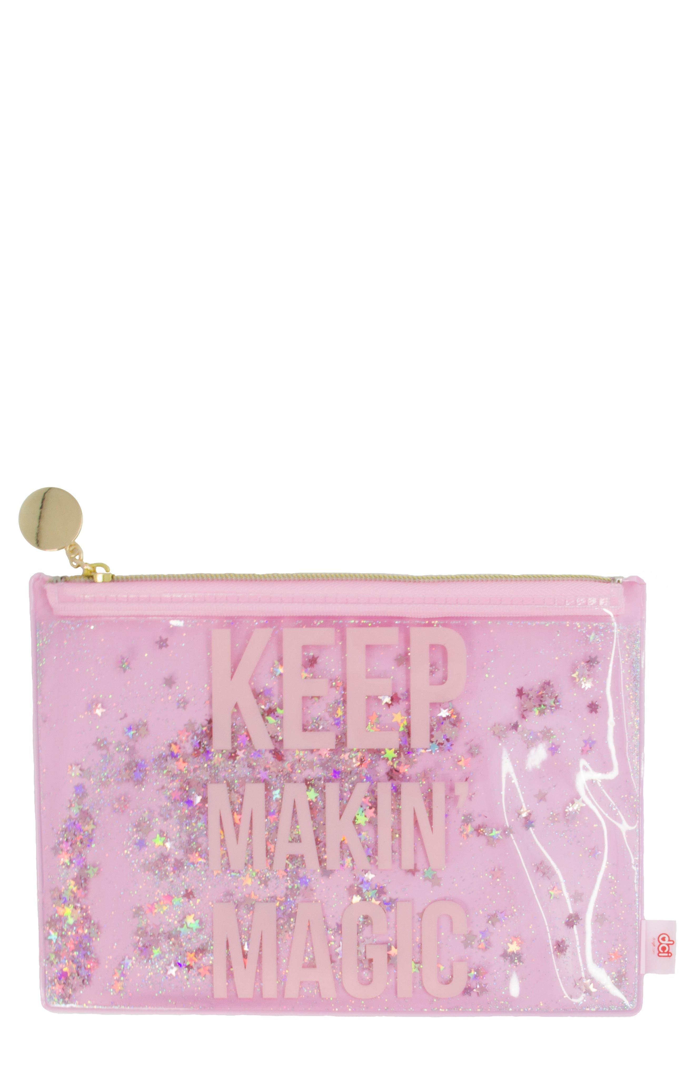 Girls Dci Keep Makin Magic Zip Pouch