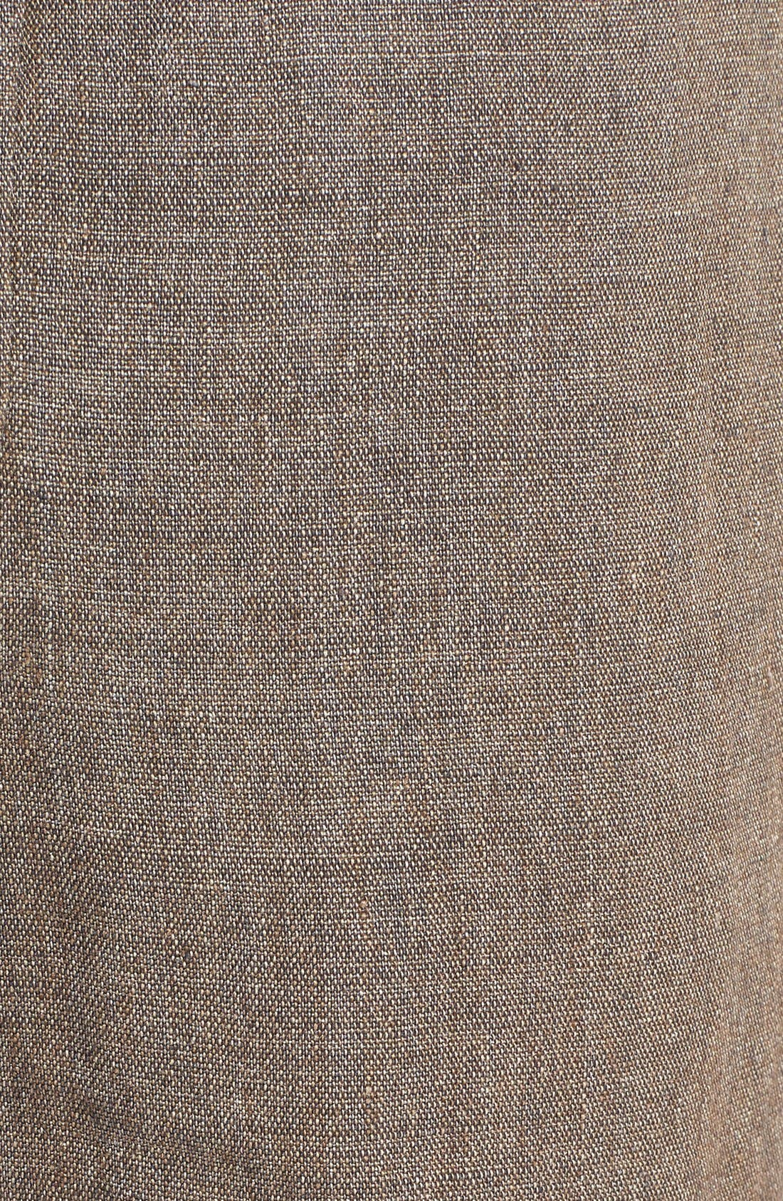 'Delave' Drawstring Linen Pants,                             Alternate thumbnail 5, color,                             207