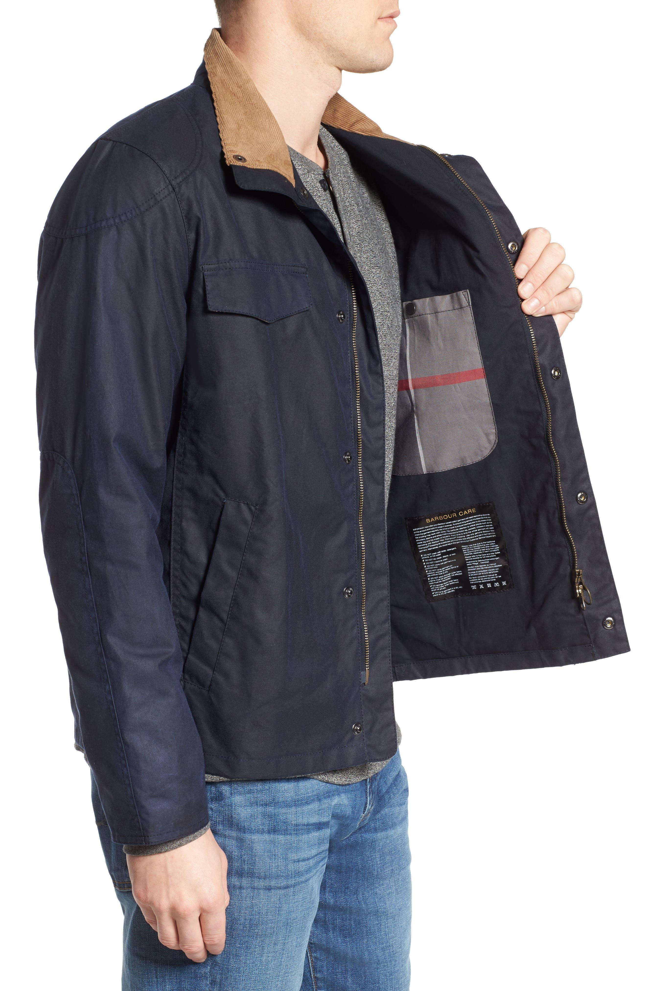 Lomond Waxed Cotton Jacket,                             Alternate thumbnail 3, color,                             410