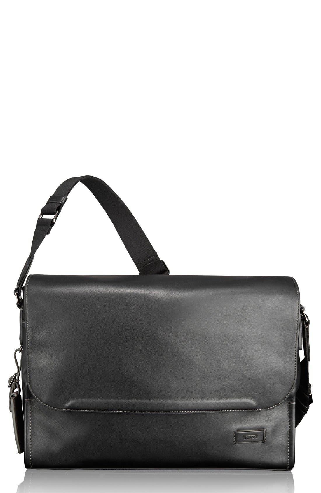 'Harrison - Mathews' Messenger Bag,                         Main,                         color, 001