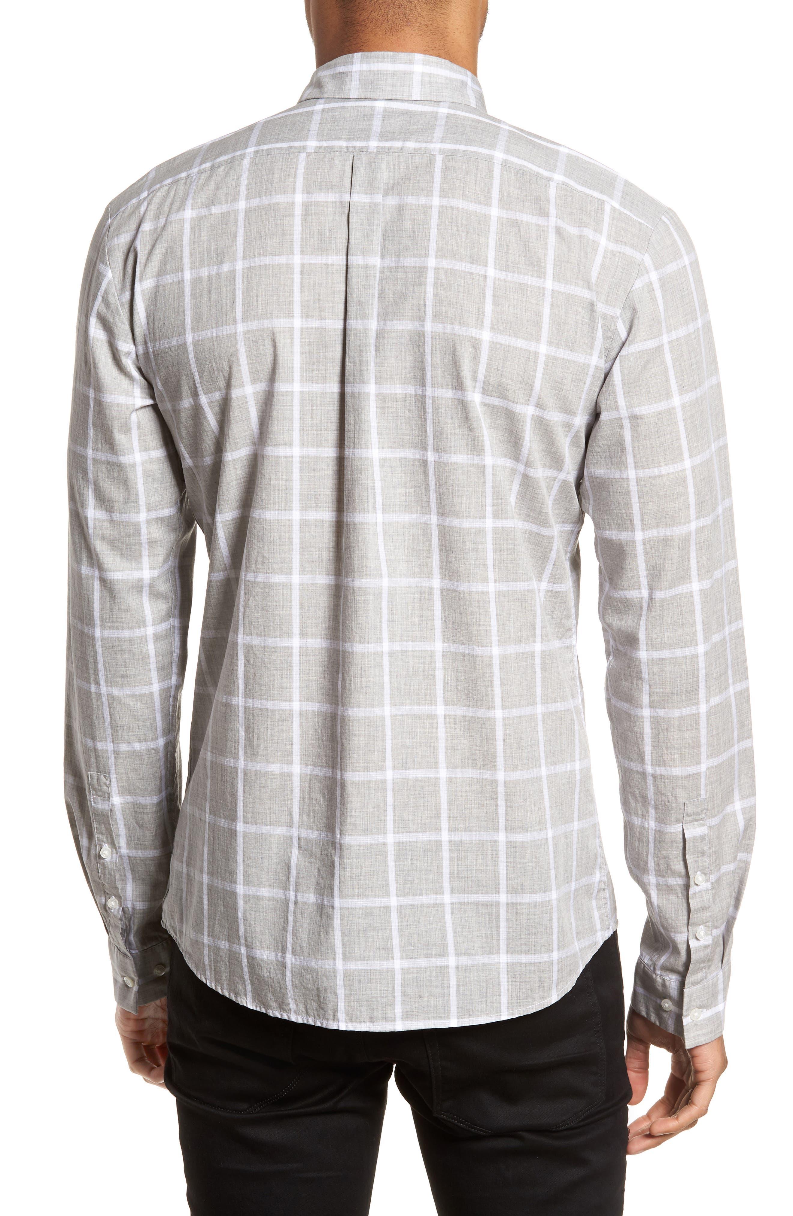 Ero Slim Fit Check Sport Shirt,                             Alternate thumbnail 2, color,                             061