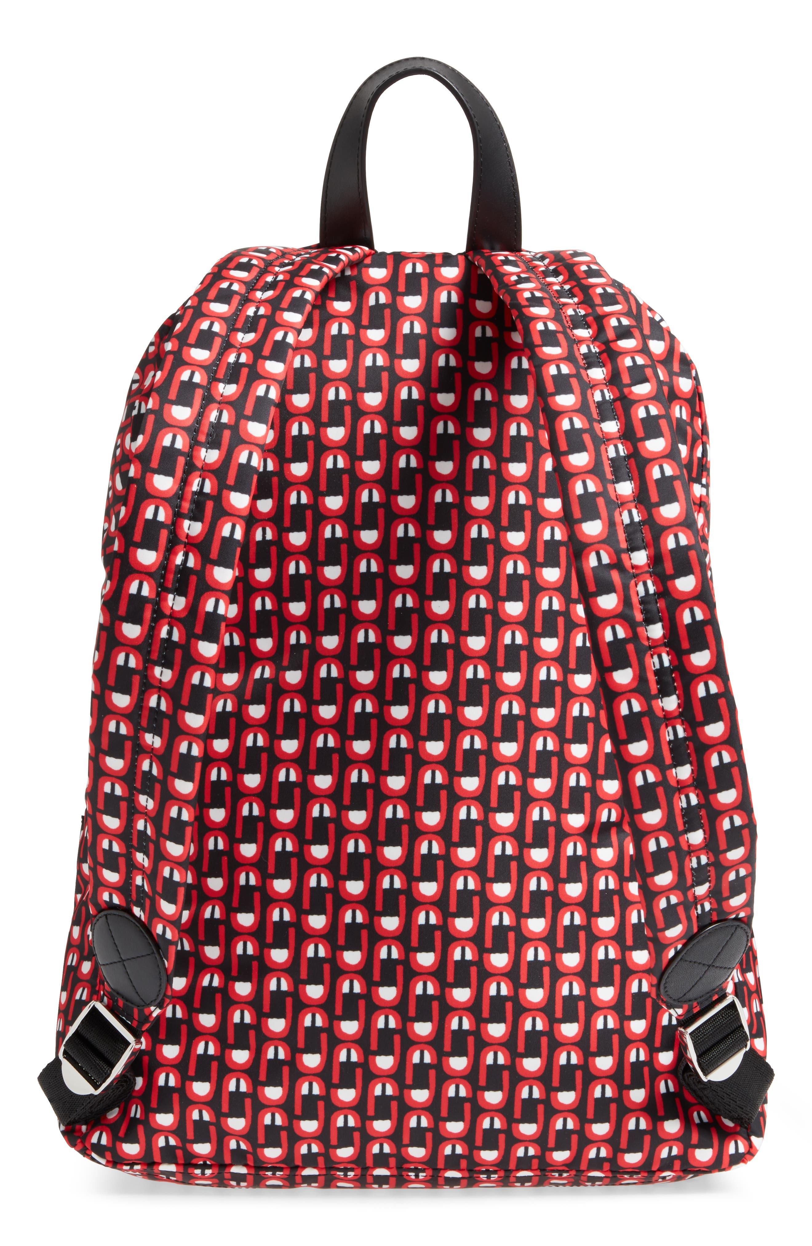 Logo Scream Biker Backpack,                             Alternate thumbnail 3, color,                             601