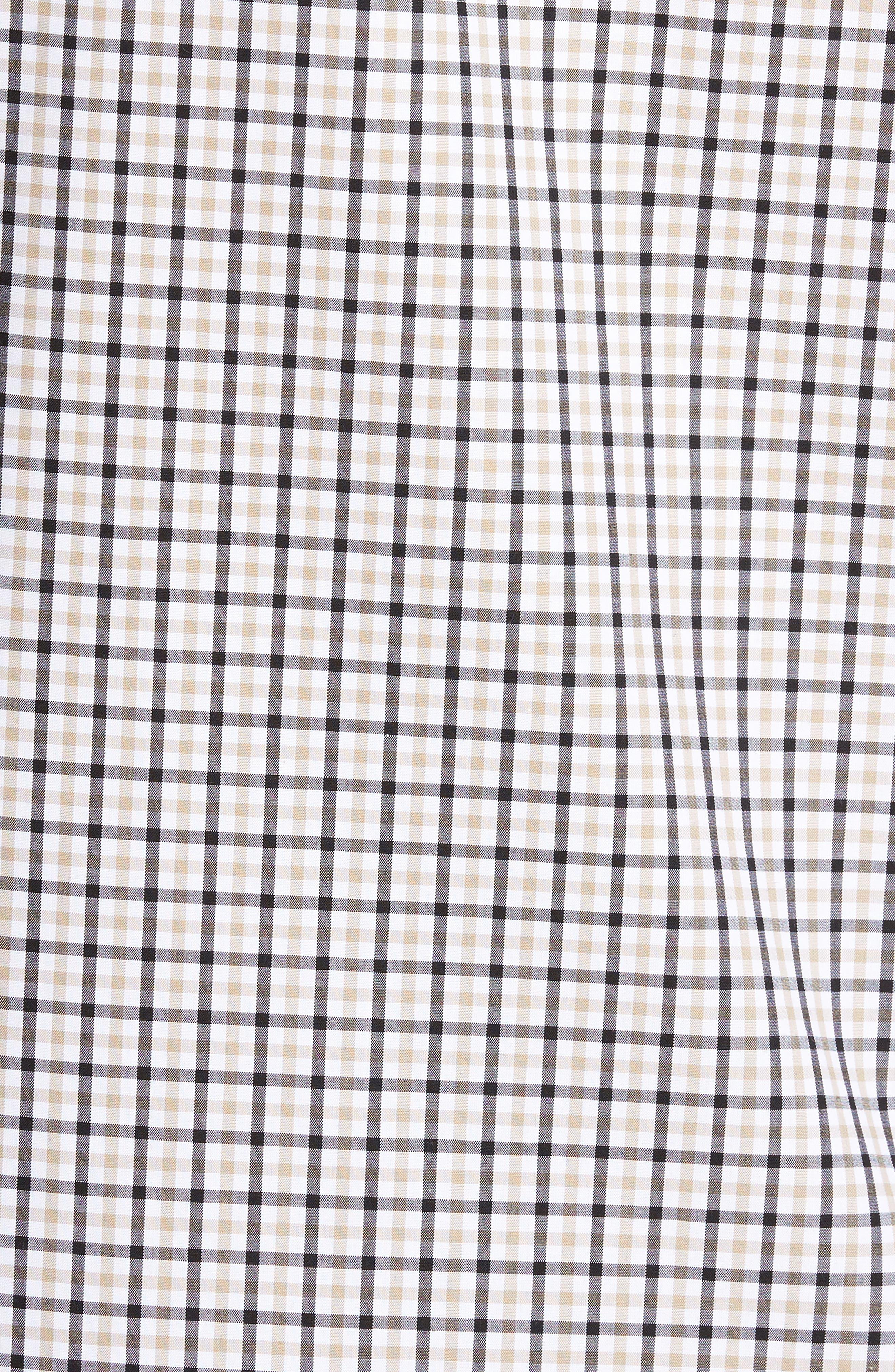 Smartcare<sup>™</sup> Regular Fit Plaid Sport Shirt,                             Alternate thumbnail 32, color,