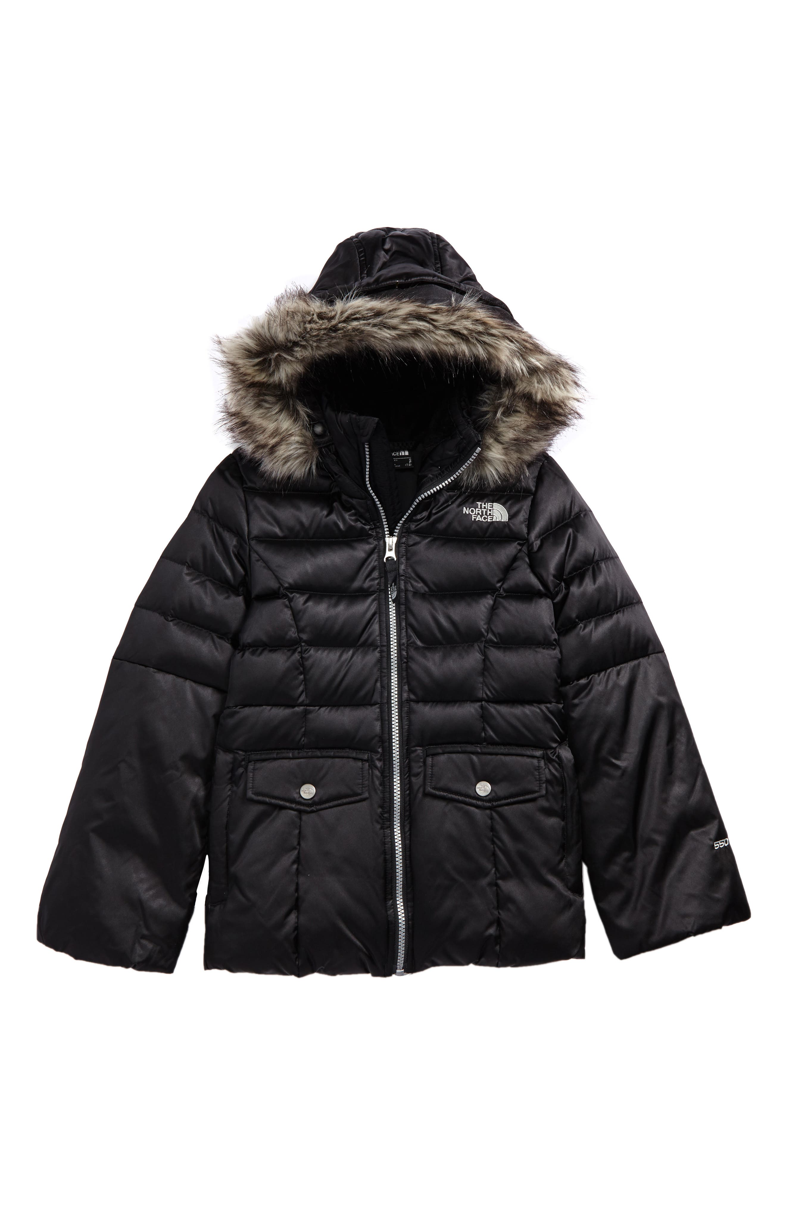 Gotham 2.0 550-Fill Down Jacket,                         Main,                         color, TNF BLACK