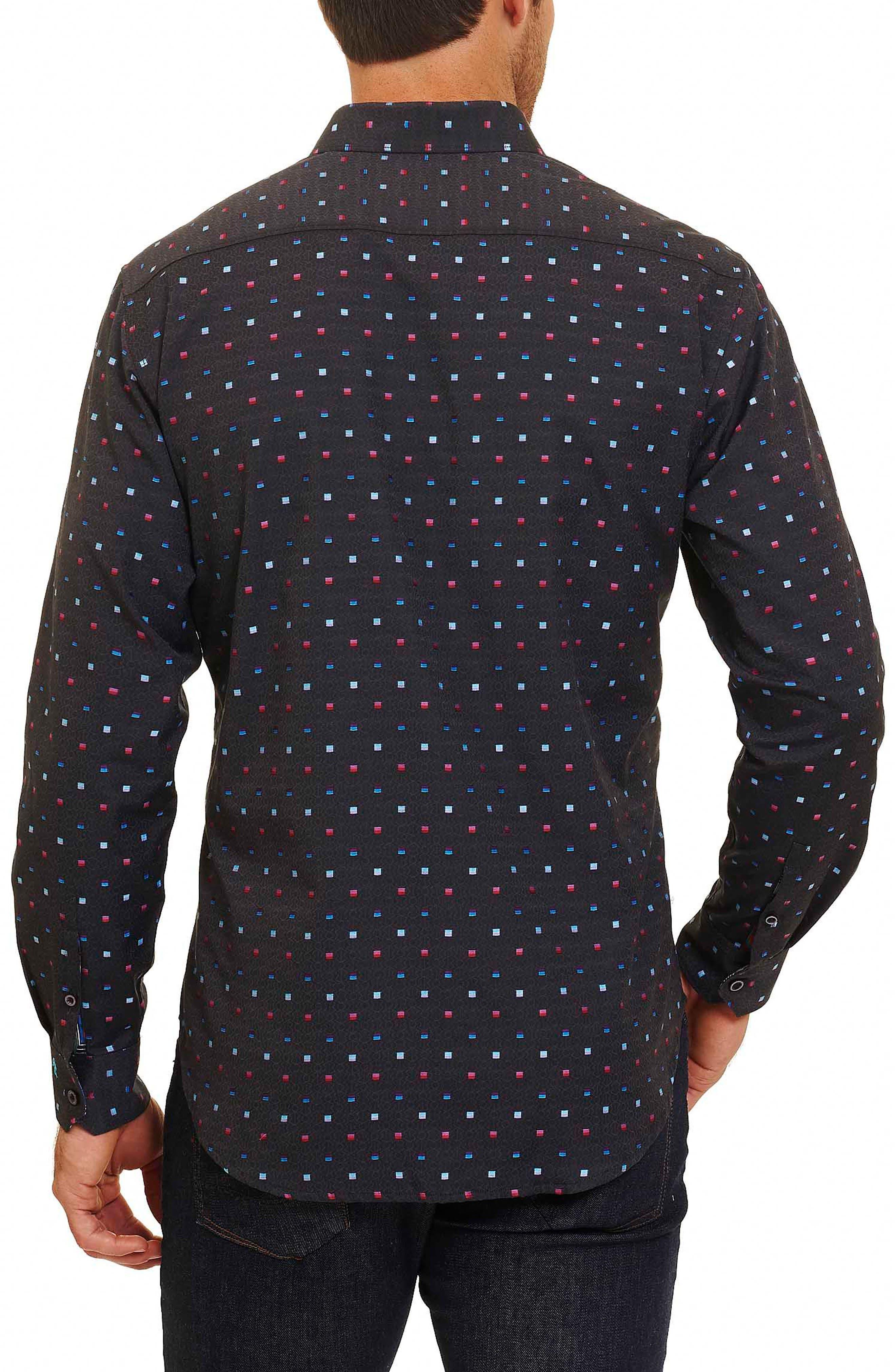 Orion Arm Classic Fit Sport Shirt,                             Alternate thumbnail 3, color,                             030