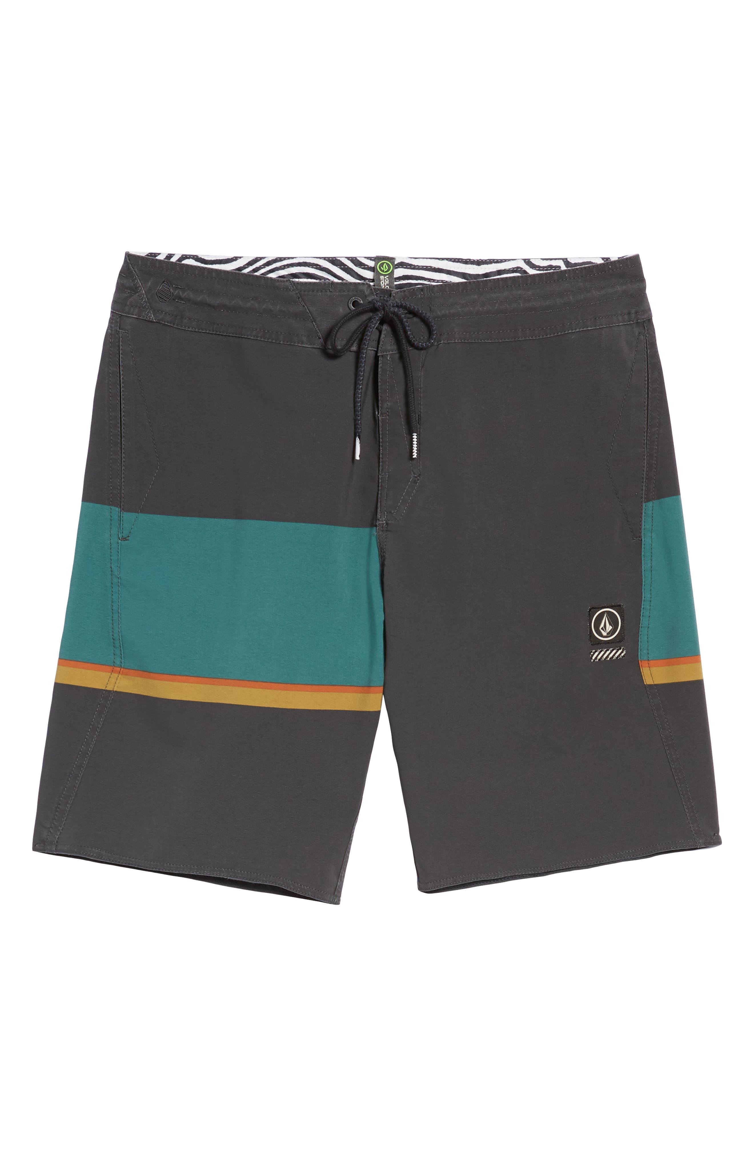 VOLCOM,                             3 Quarta Stoney Board Shorts,                             Alternate thumbnail 6, color,                             366