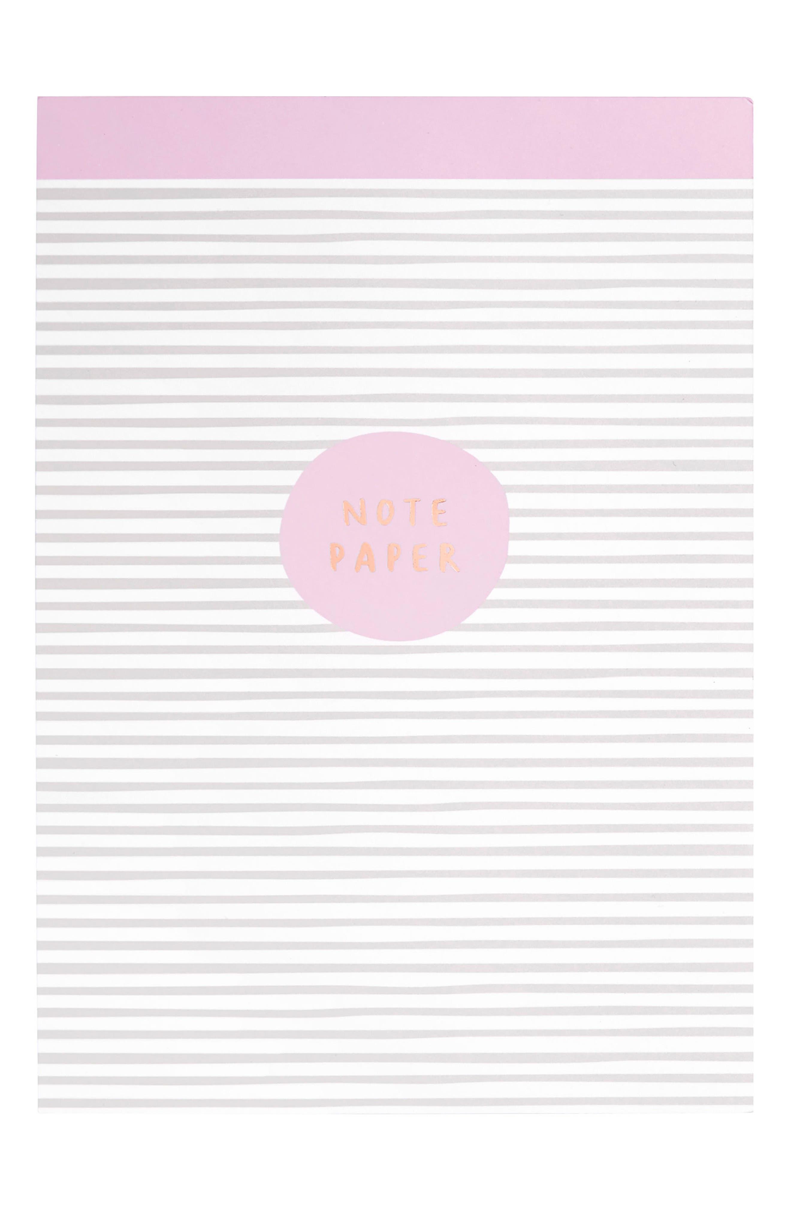 B5 Print Notepad,                             Main thumbnail 1, color,                             020