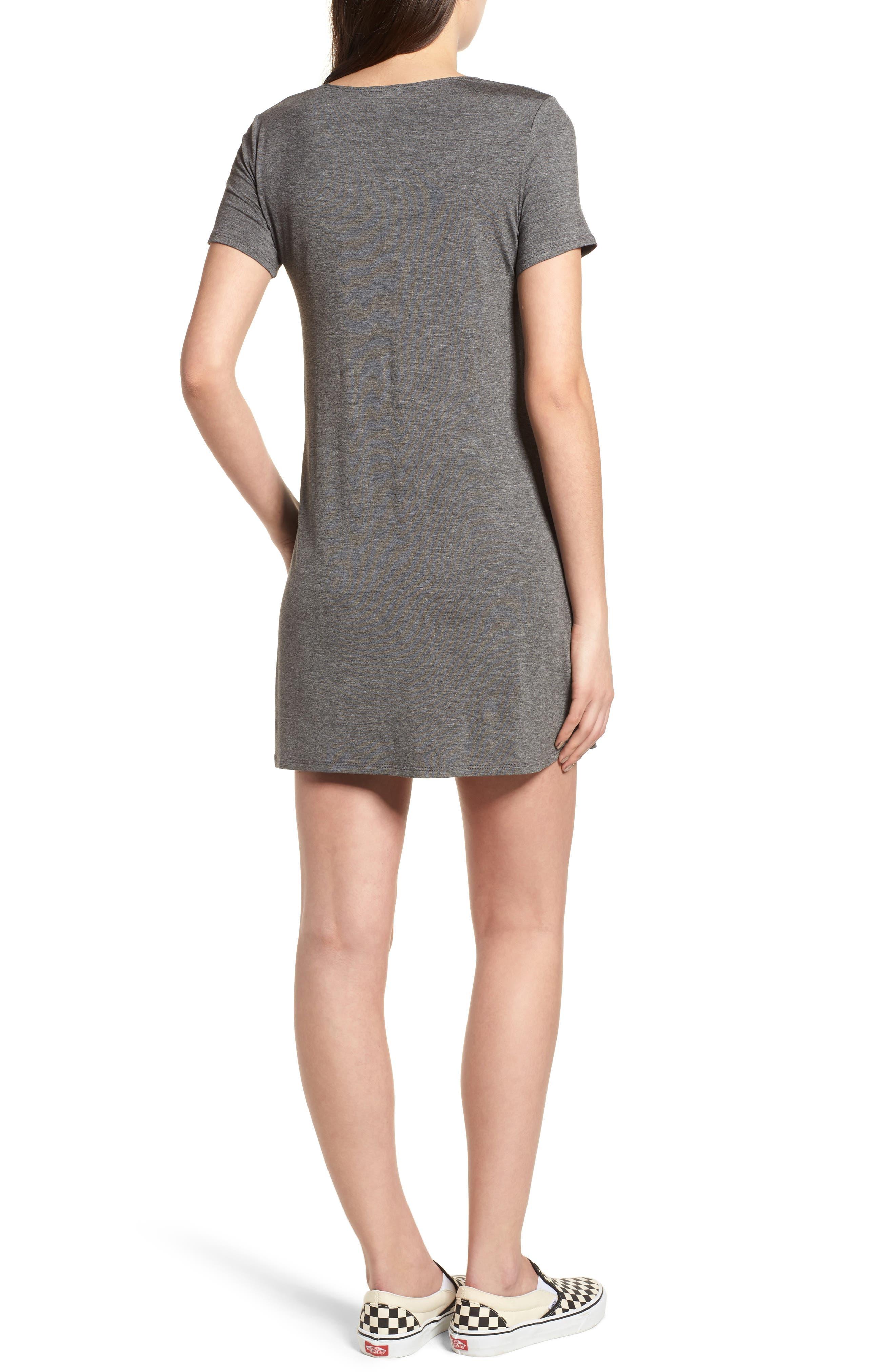 T-Shirt Dress,                             Alternate thumbnail 2, color,                             020