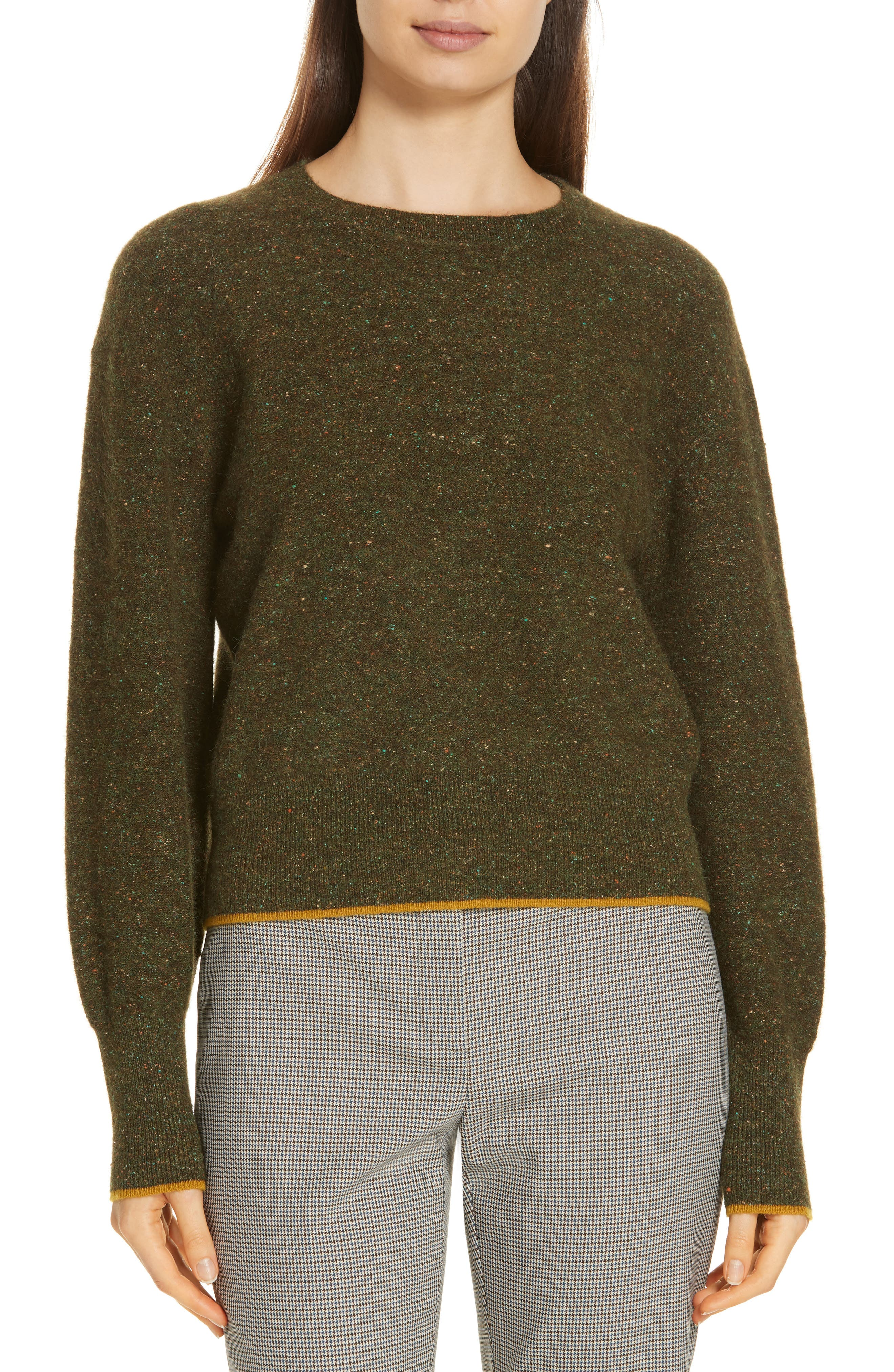 Tweed Knit Sweater,                             Main thumbnail 1, color,                             310