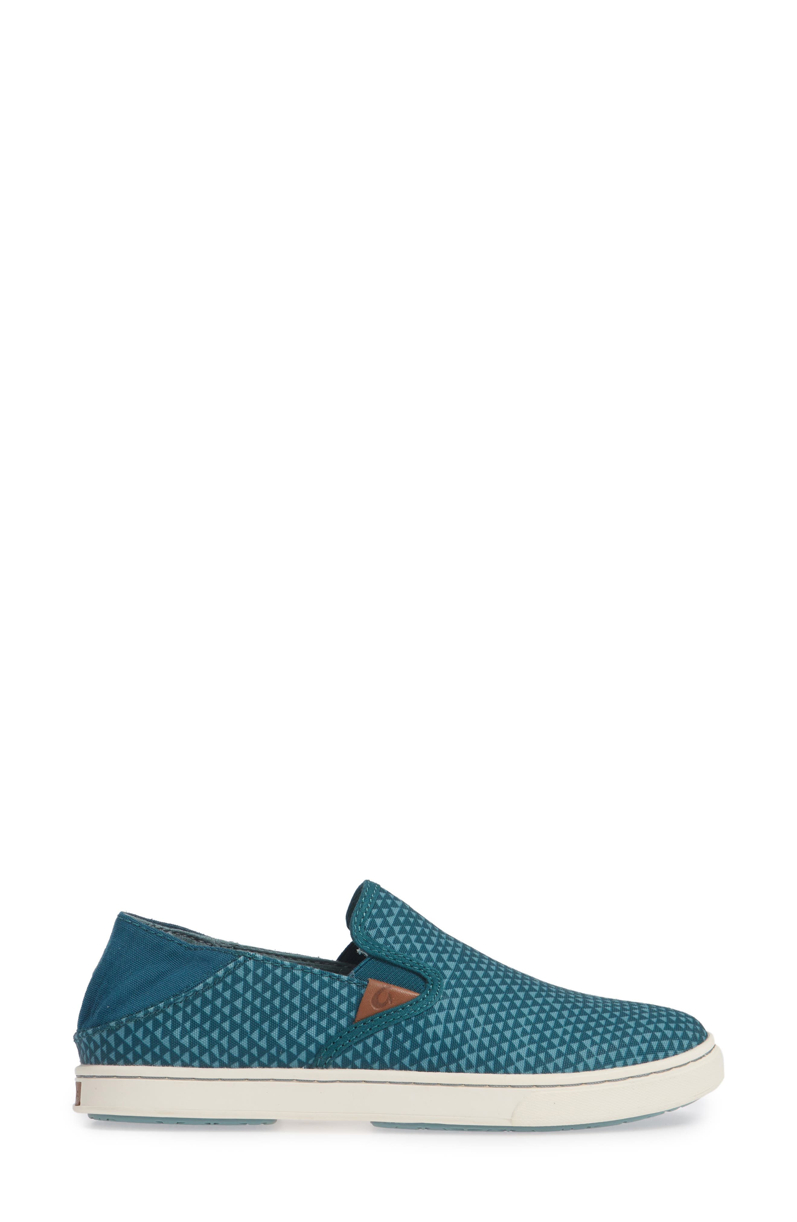 Pehuea Pa'i Convertible Sneaker,                             Alternate thumbnail 2, color,                             DEEP TEAL/ TRIANGLE FABRIC