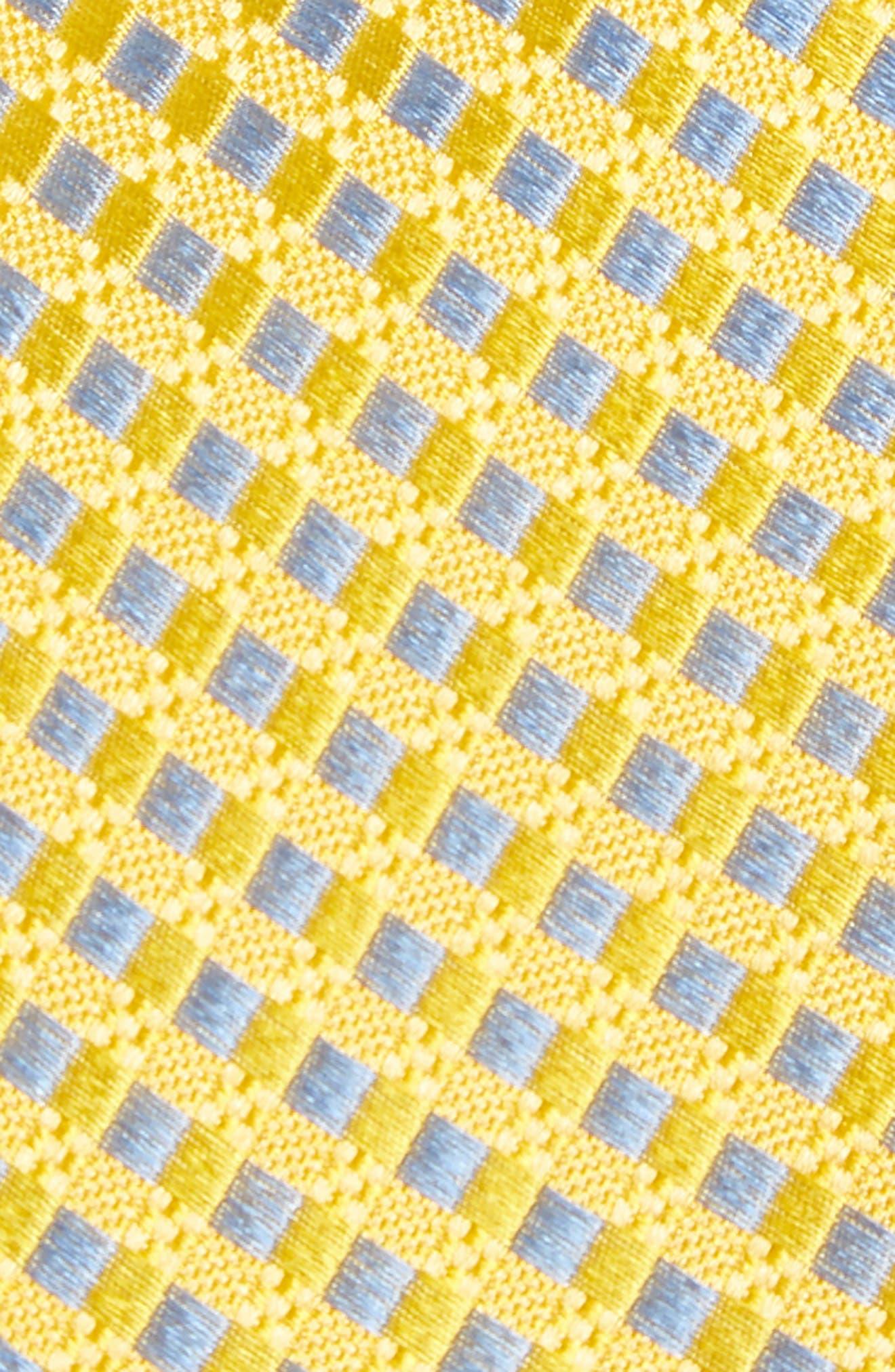 Nathan Check Silk Tie,                             Alternate thumbnail 6, color,