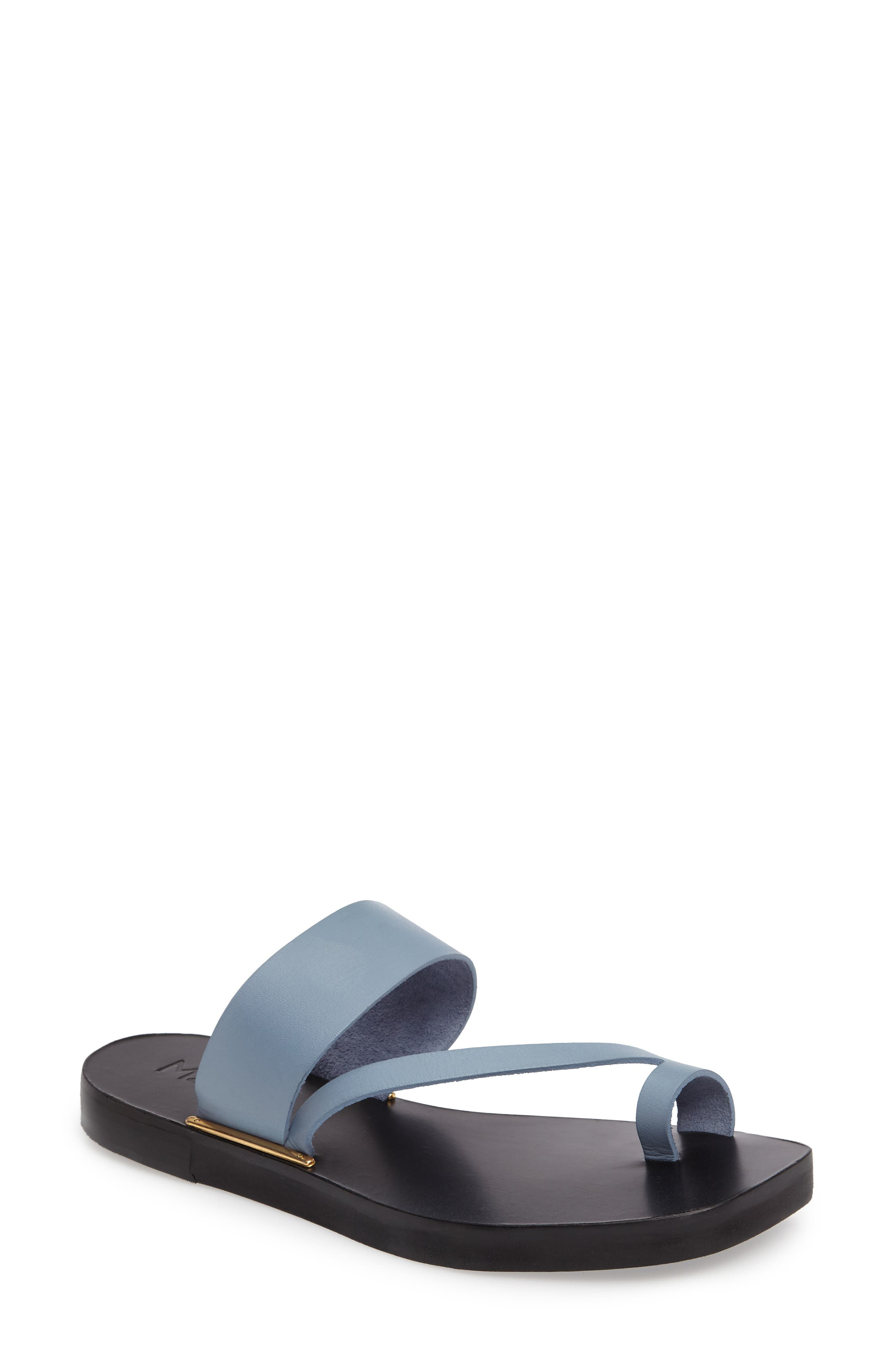 M4D3 Capri Sandal,                             Main thumbnail 1, color,                             BLUE