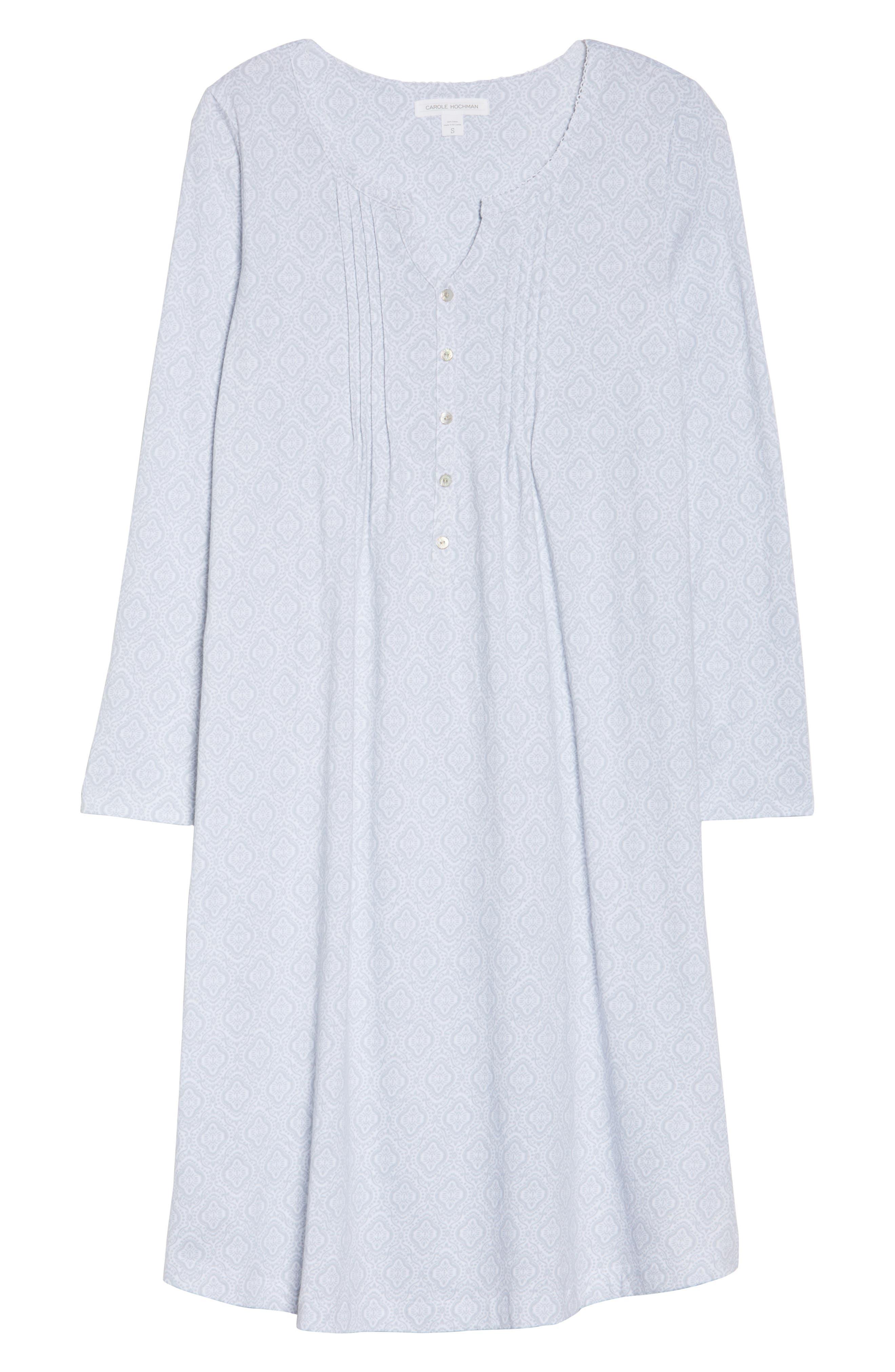 Cotton Jersey Waltz Nightgown,                             Alternate thumbnail 6, color,