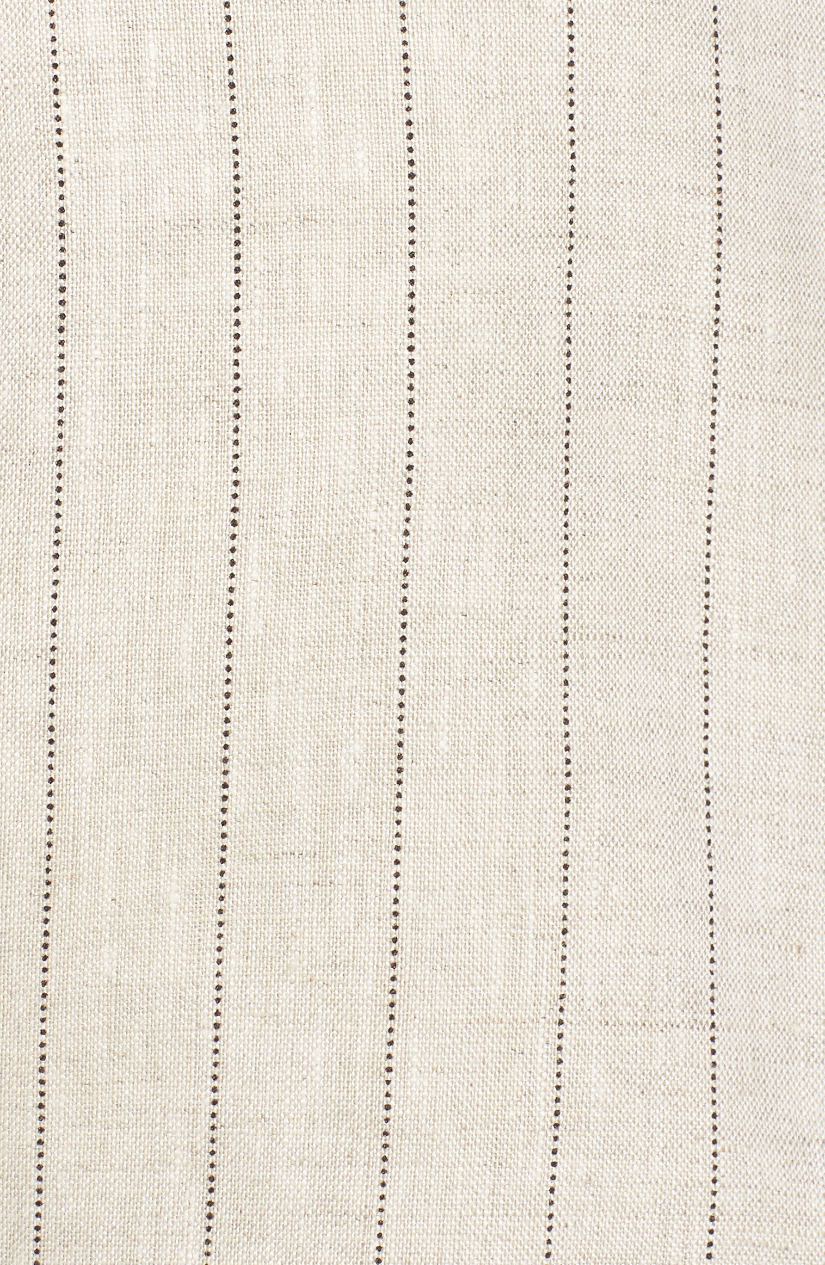 Scallop Waist Linen Shorts,                             Alternate thumbnail 5, color,