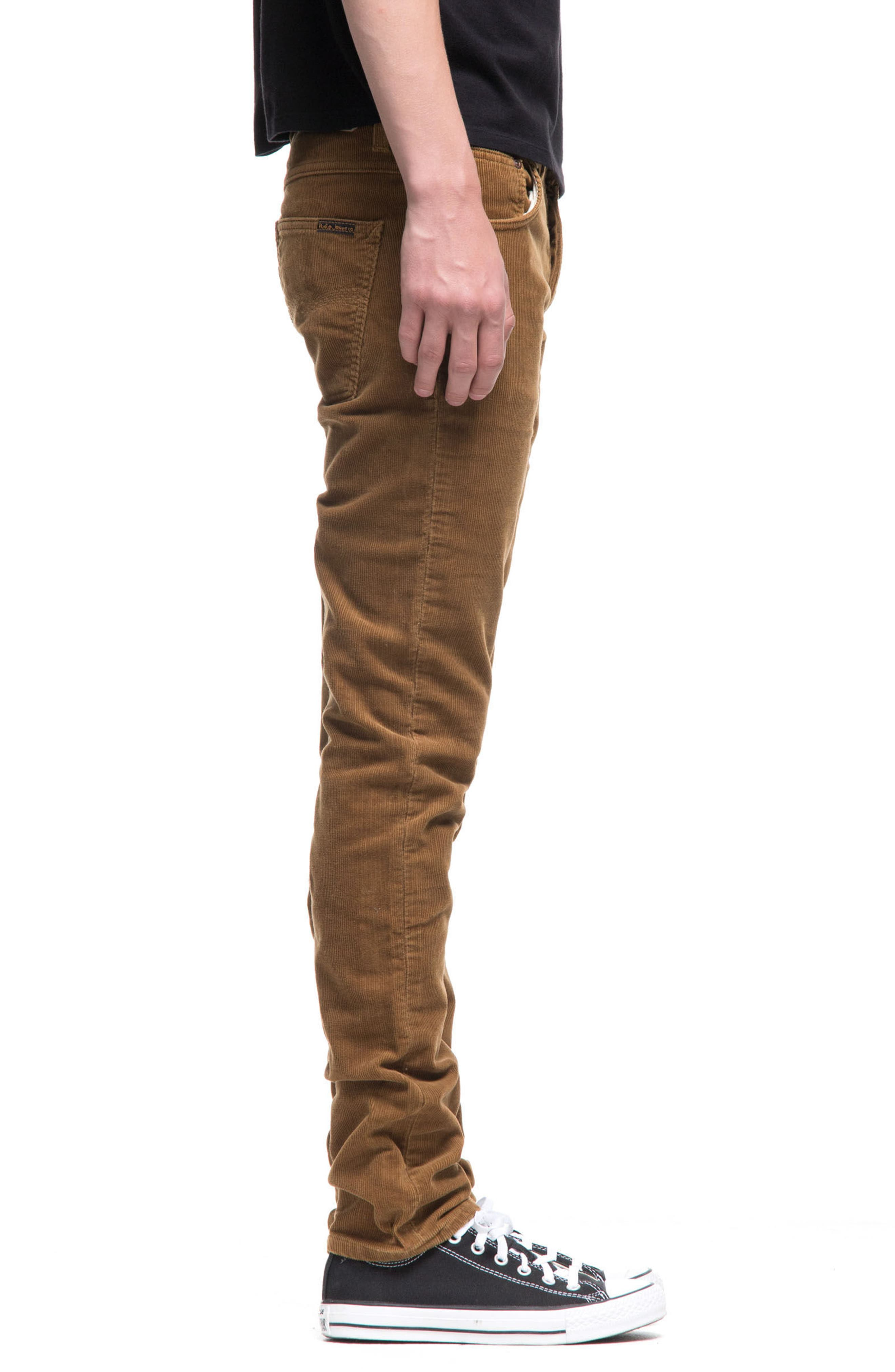 Grim Tim Slim Fit Corduroy Pants,                             Alternate thumbnail 3, color,