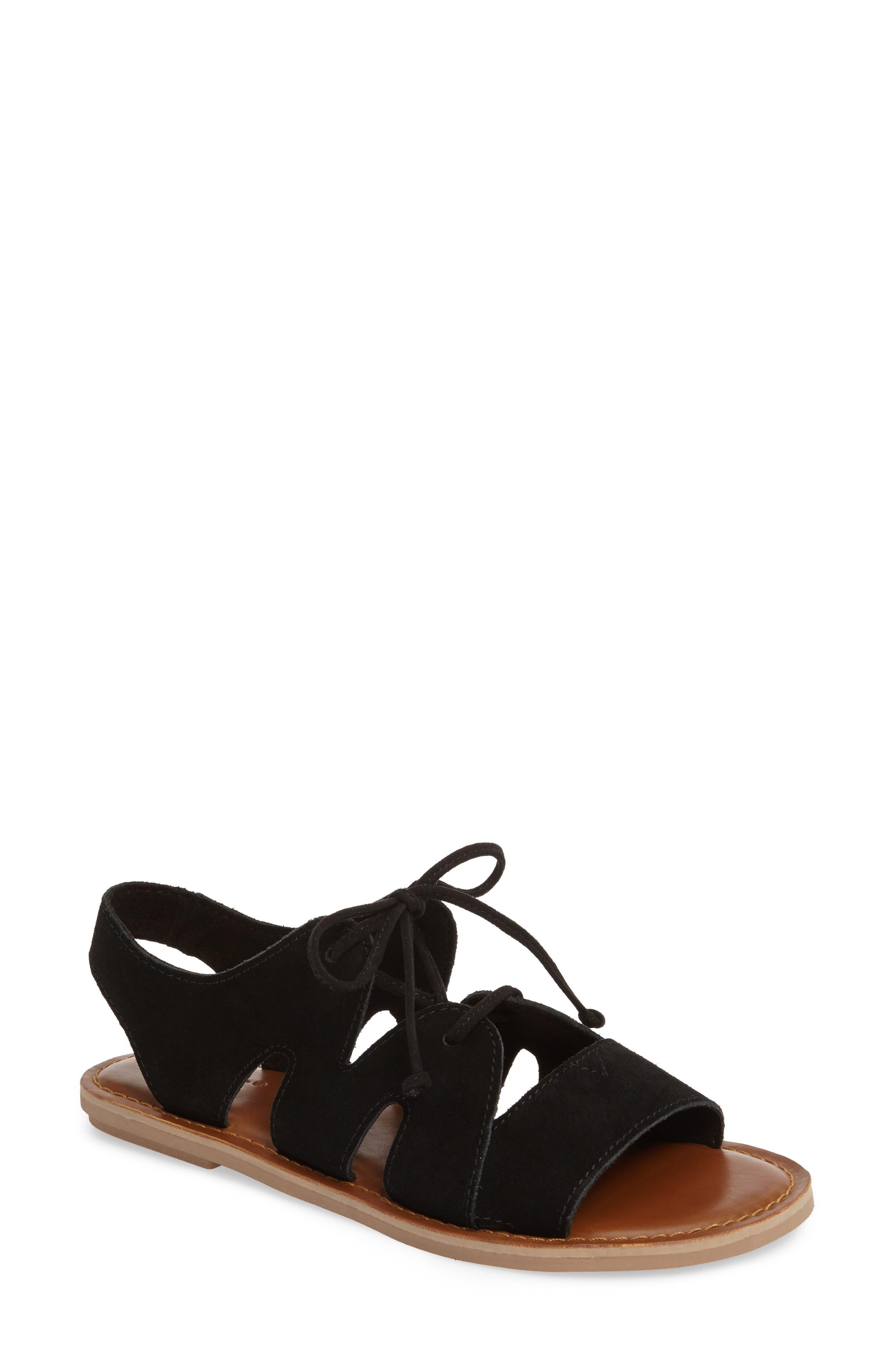Calips Sandal,                         Main,                         color, 001