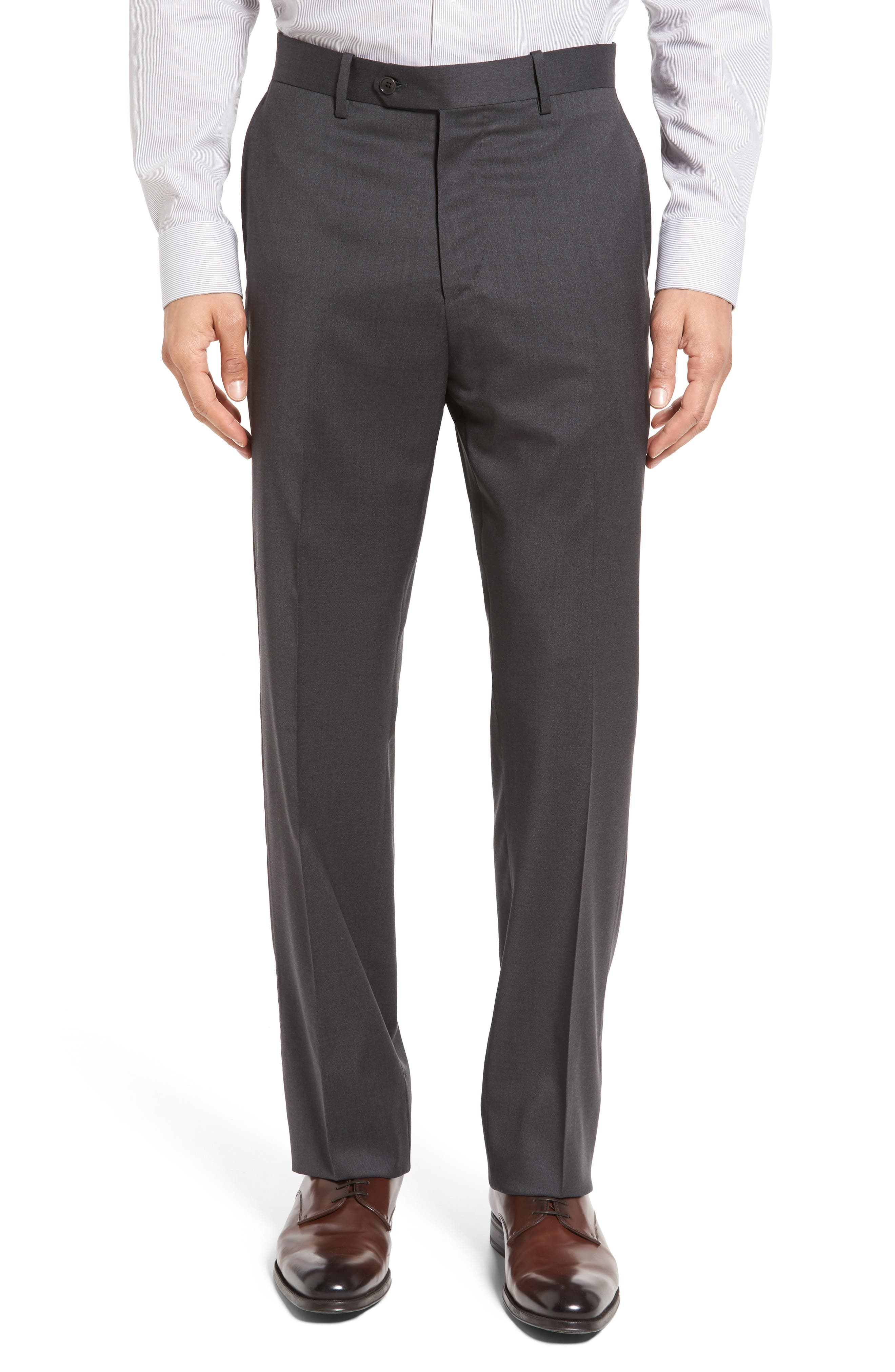 Classic Fit Solid Wool Suit,                             Alternate thumbnail 32, color,