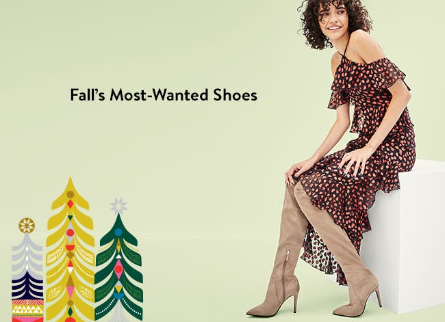 Fall's most-wanted shoes.