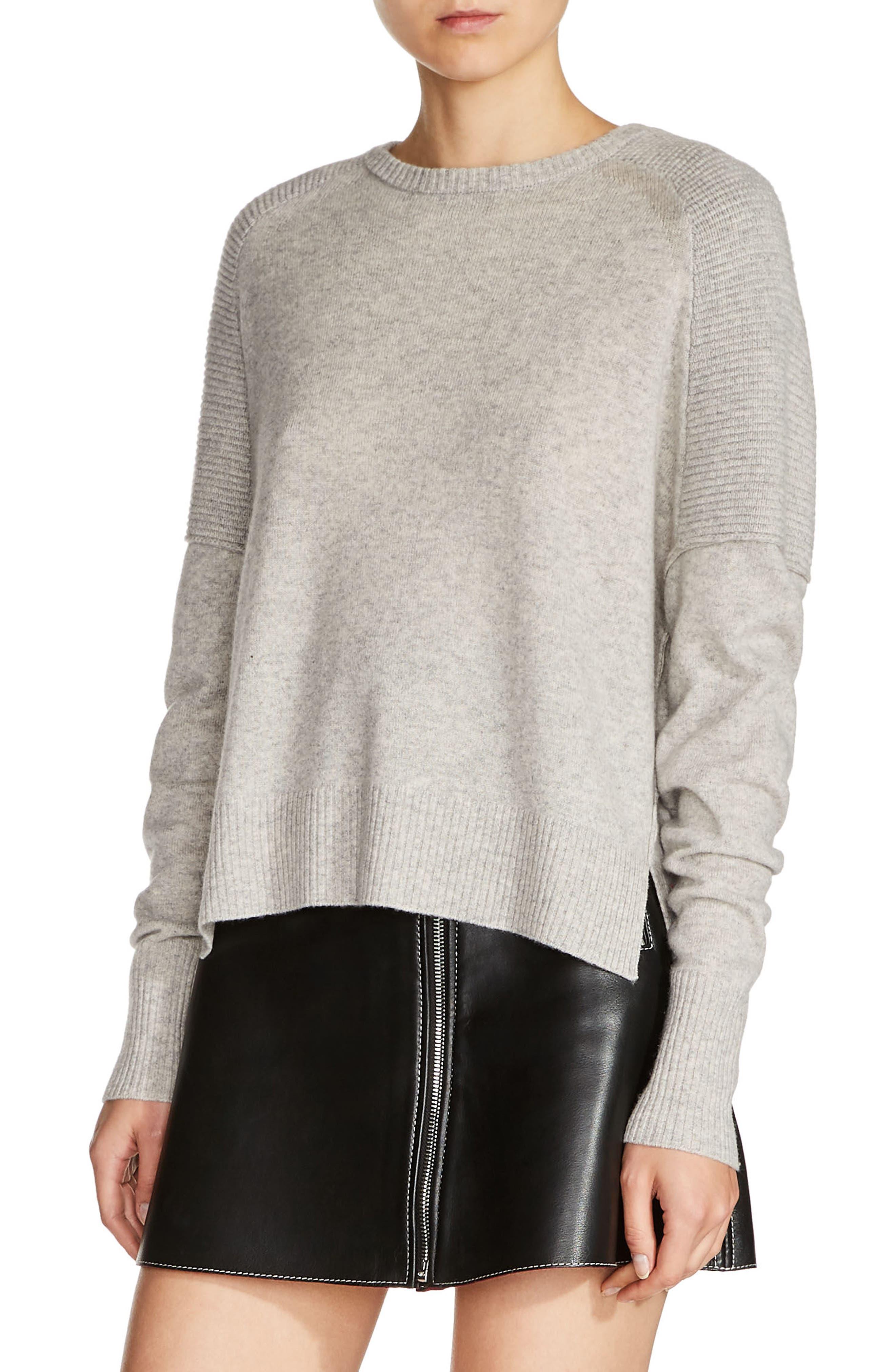 Cashmere Sweater,                         Main,                         color, 021