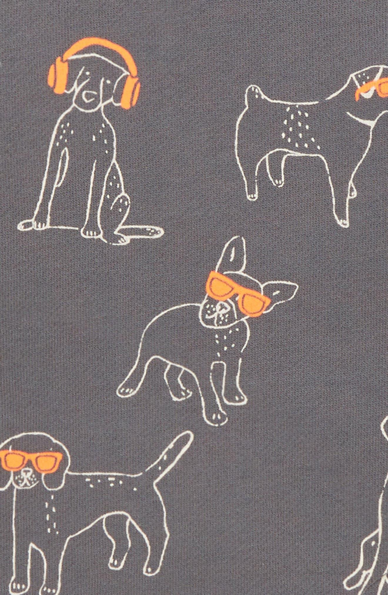 DJ Dogs Fun Sweatshirt,                             Alternate thumbnail 2, color,                             PEWTER GREY