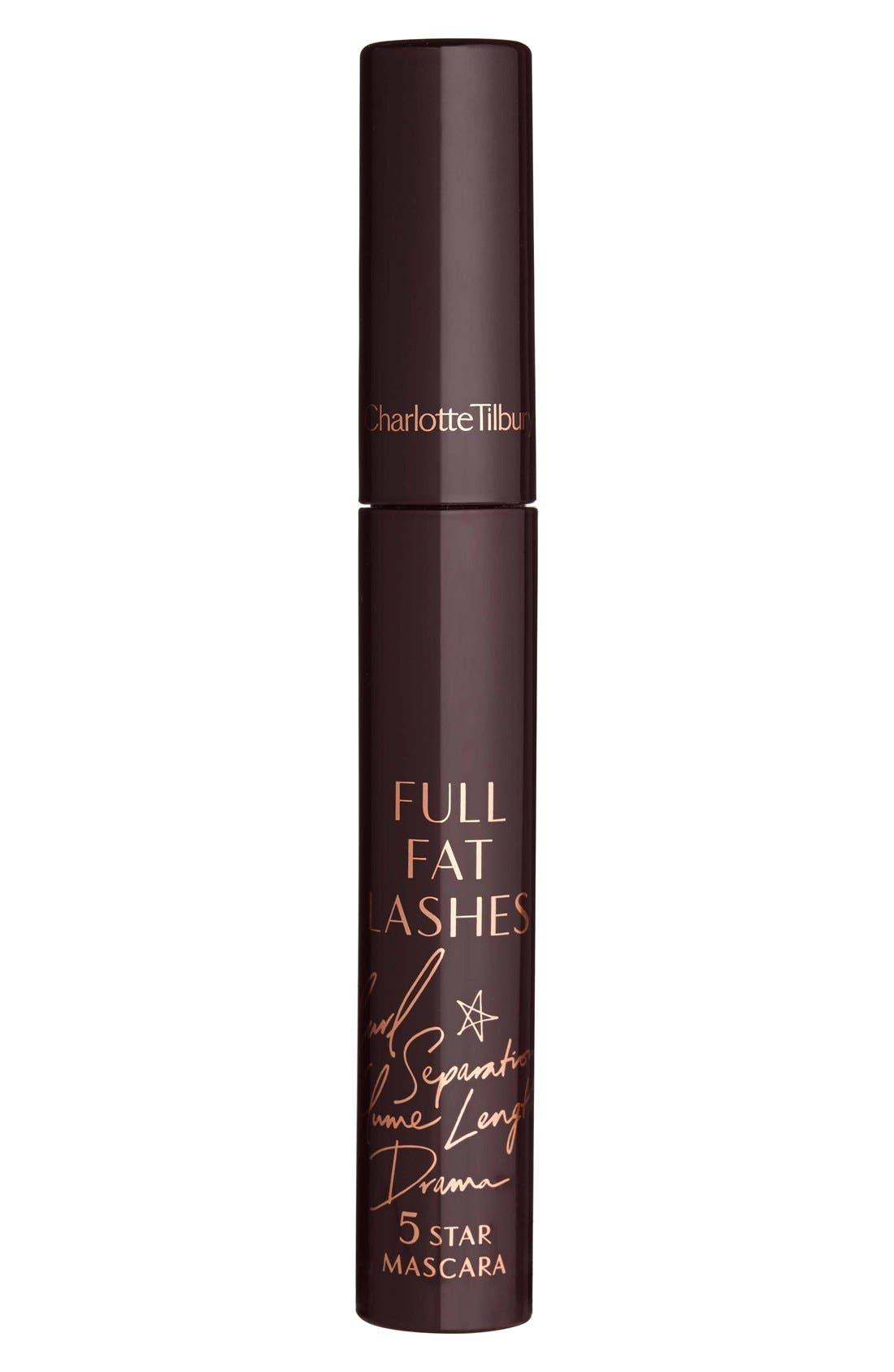 Full Fat Lashes Mascara,                             Alternate thumbnail 4, color,                             GLOSSY BLACK